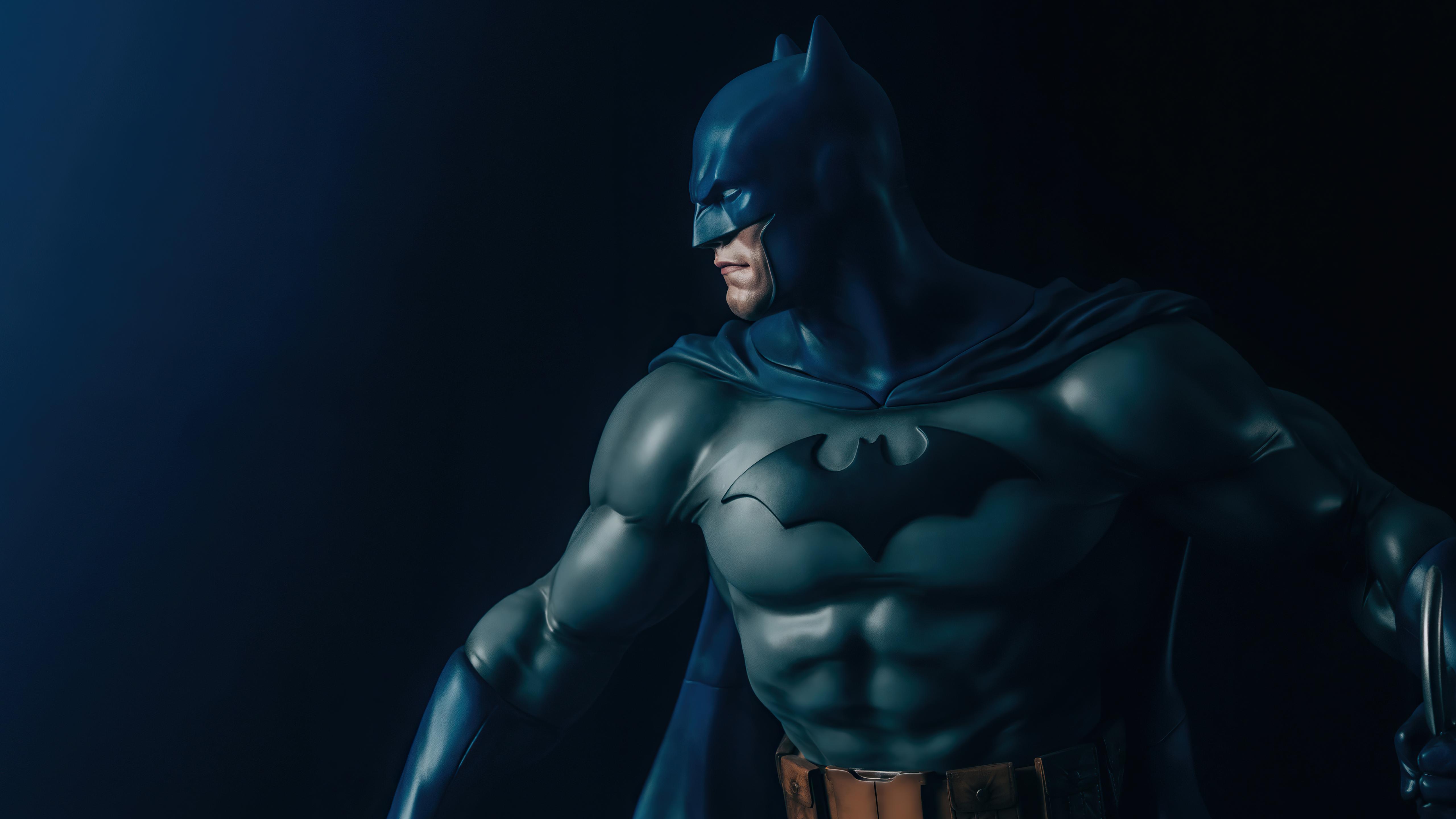 Wallpaper Batman on the side