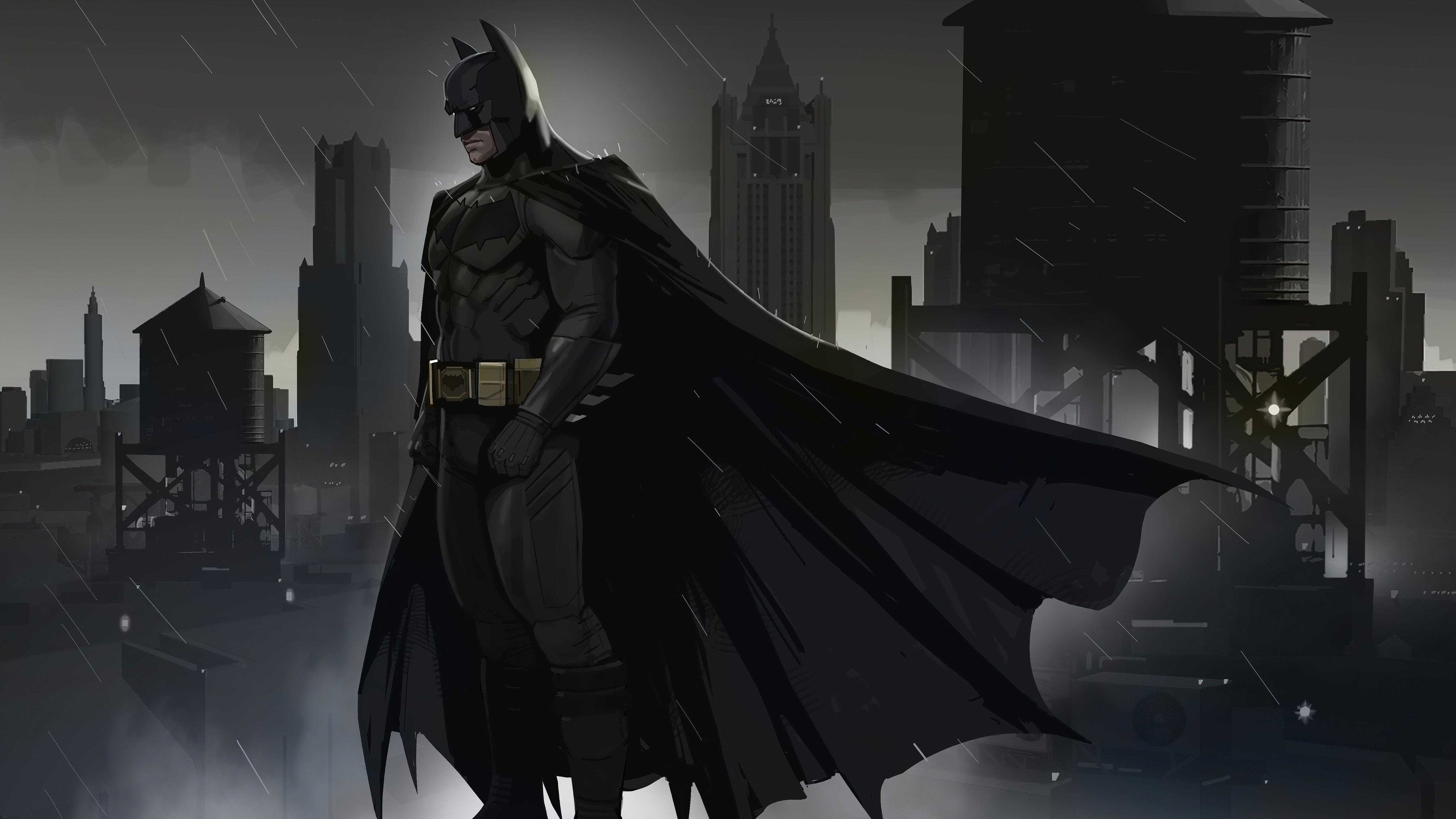 Wallpaper Batman Dreams in darkness