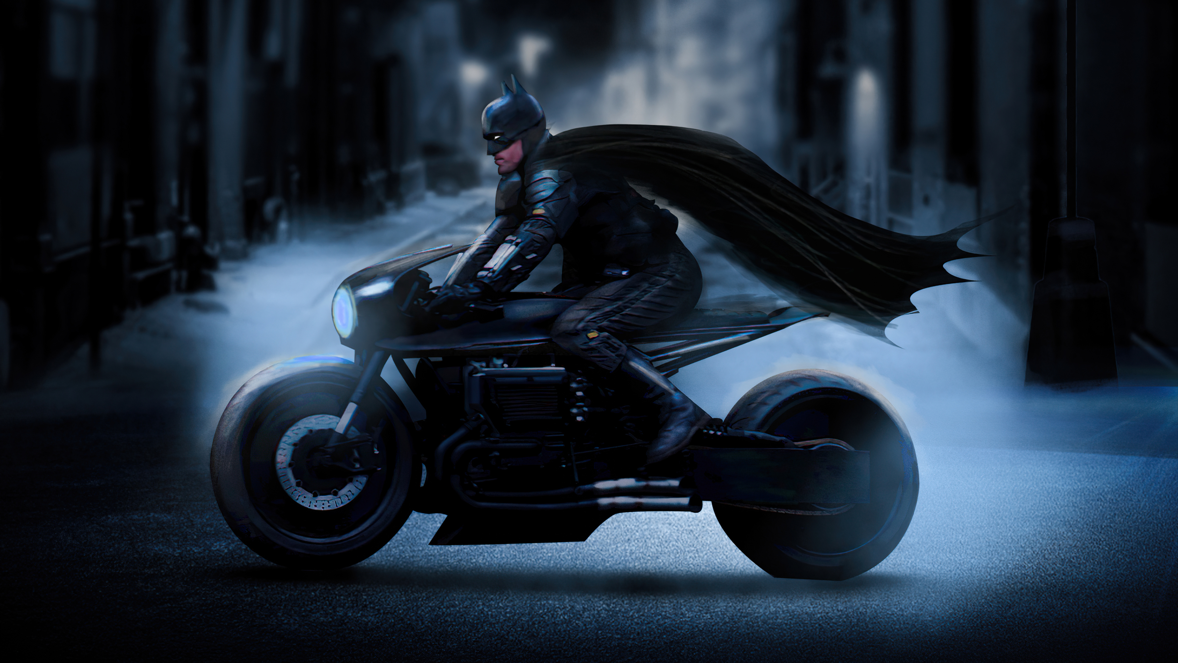 Fondos de pantalla Batman en Batimoto Fanart