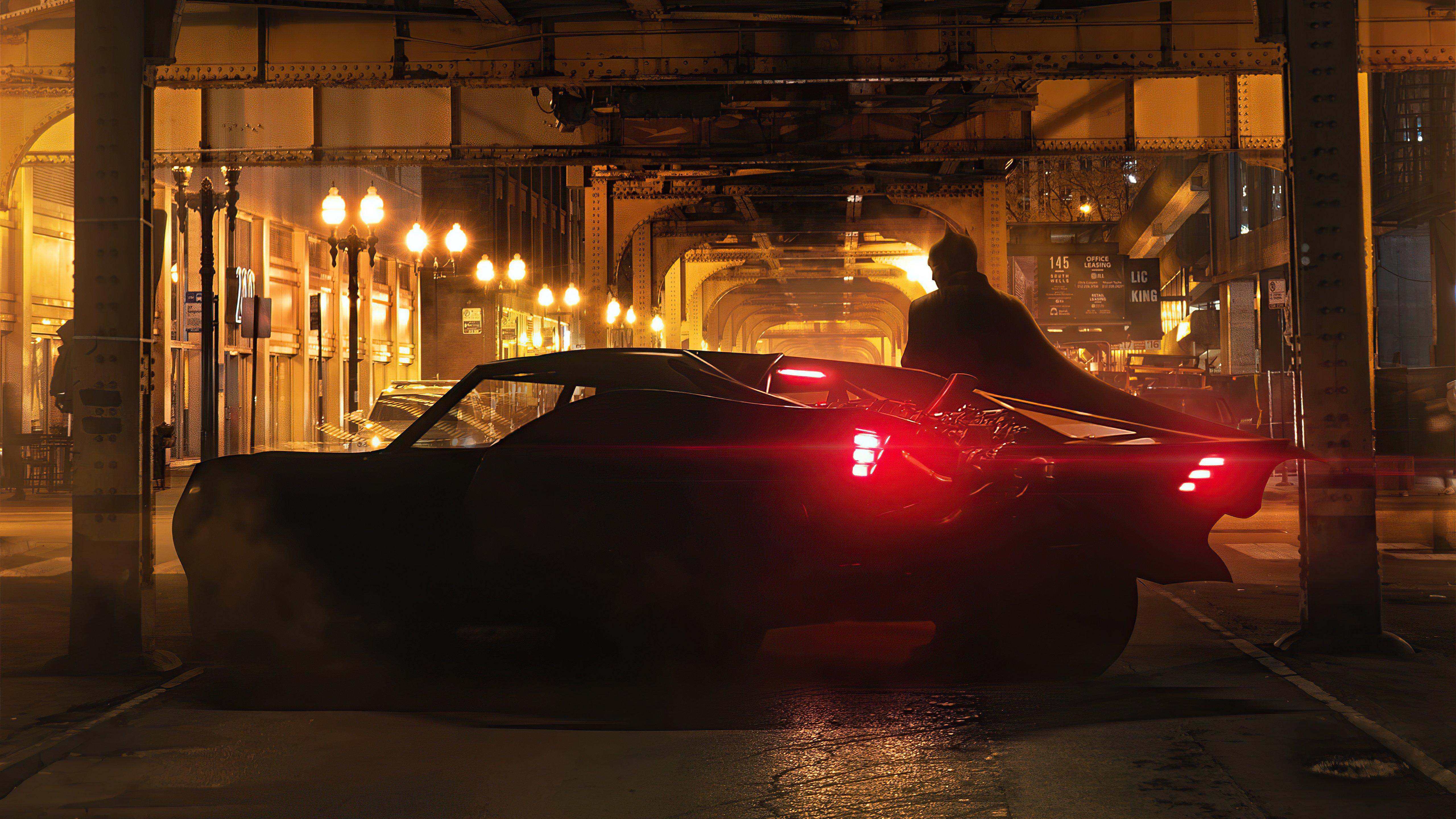 Fondos de pantalla Batman en ciudad gótica