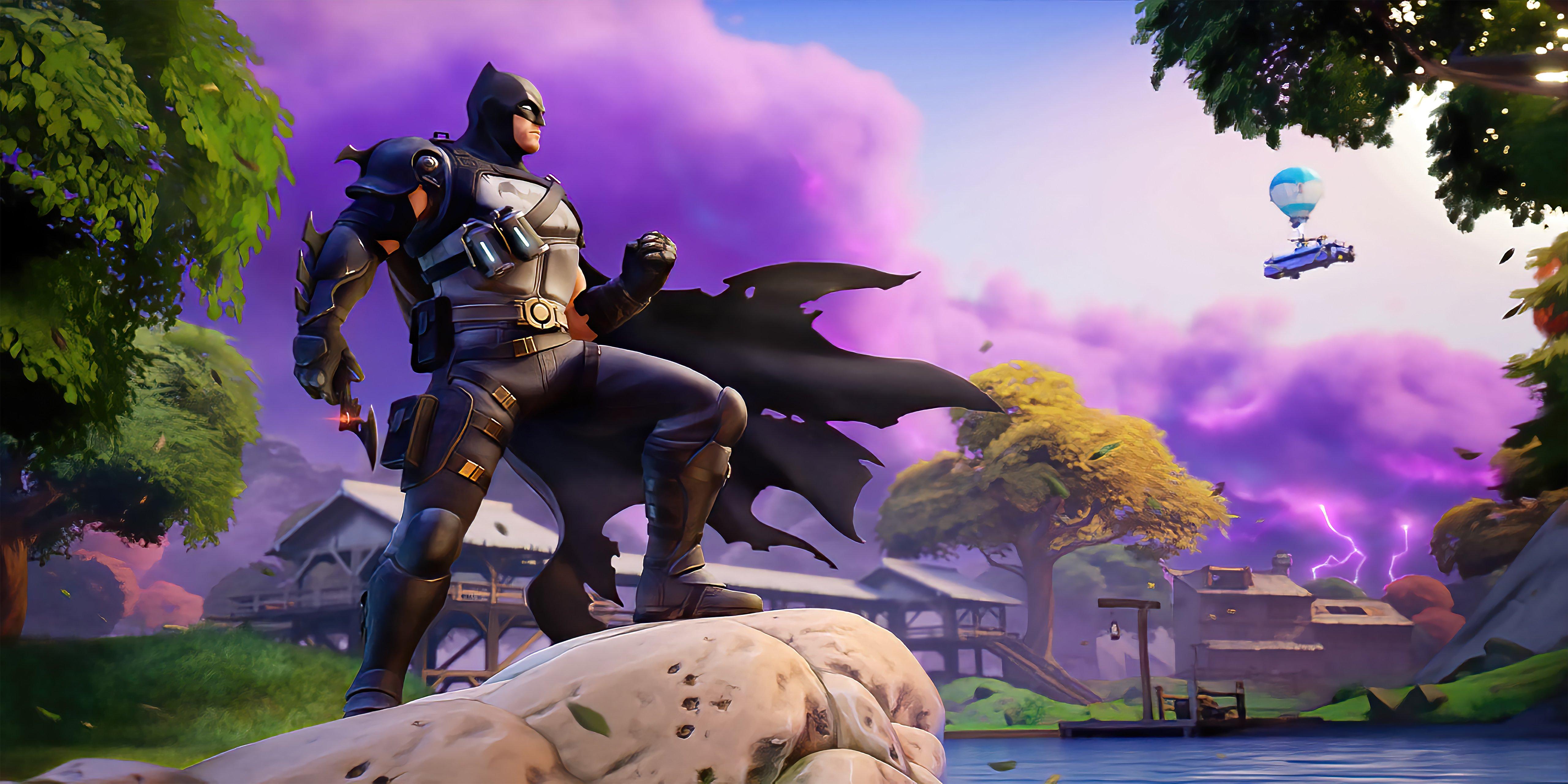 Fondos de pantalla Batman en Fortnite