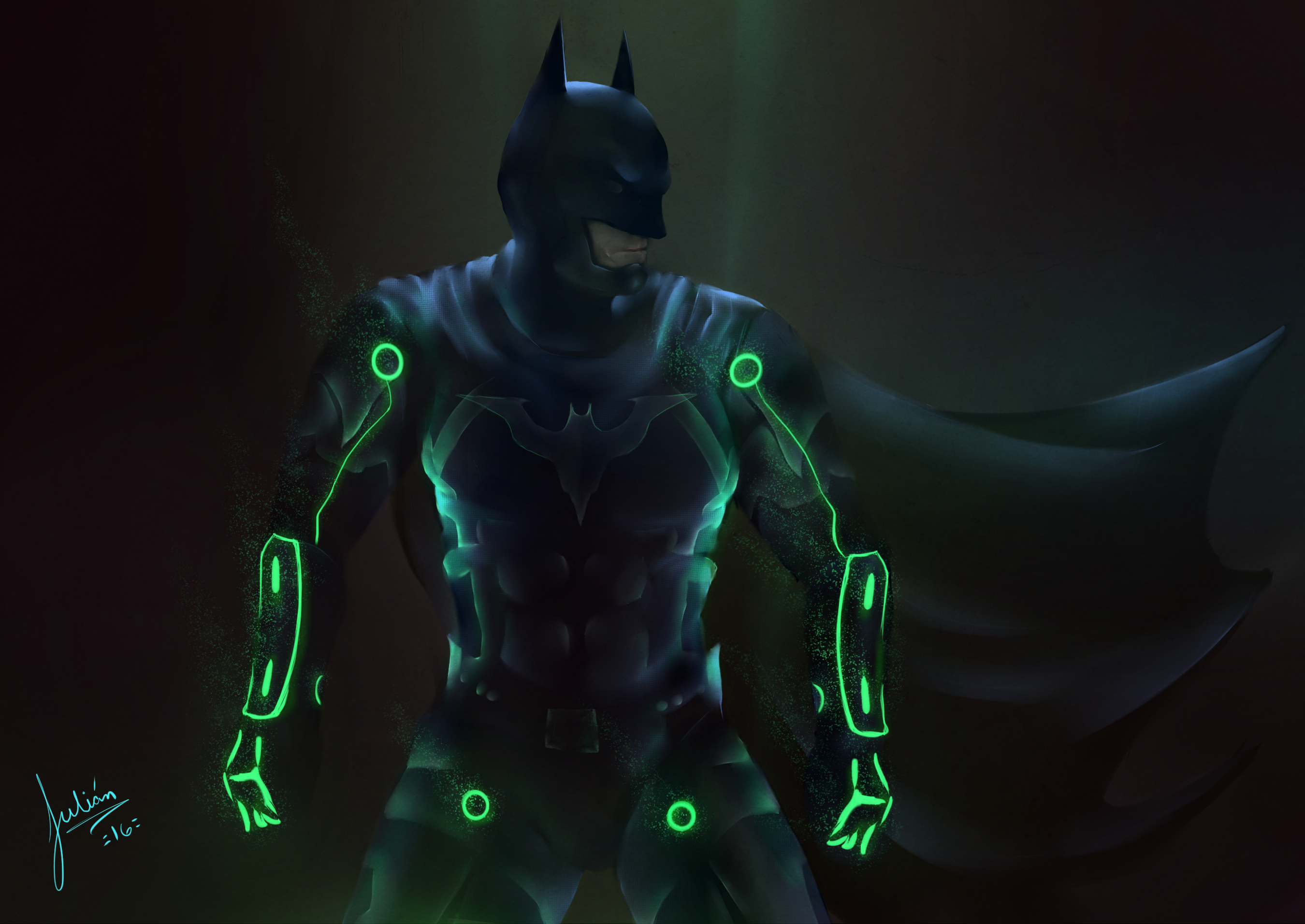 Wallpaper Batman in Injustice 2