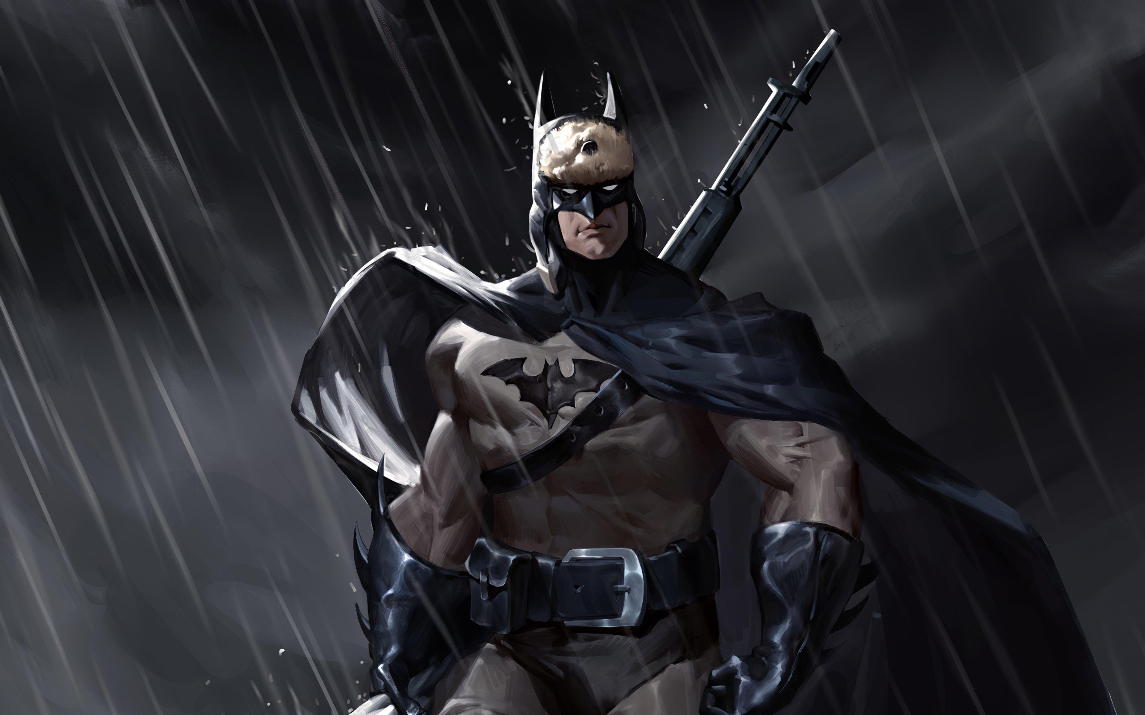 Fondos de pantalla Batman en la lluvia