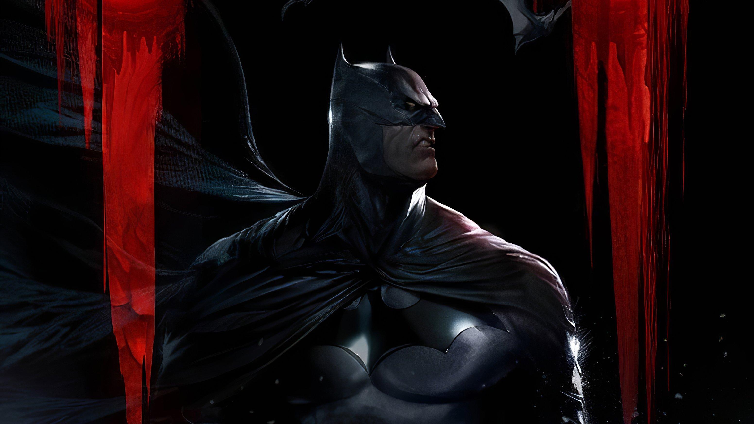 Wallpaper Batman in the dark