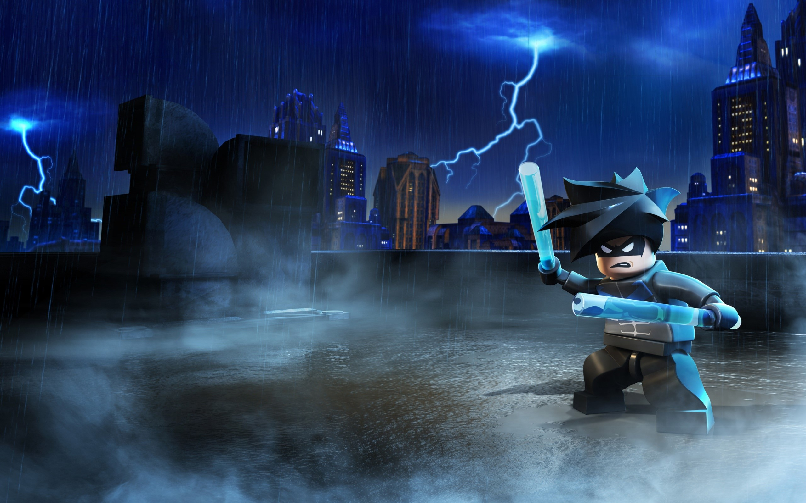 Wallpaper Batman en Lego Images
