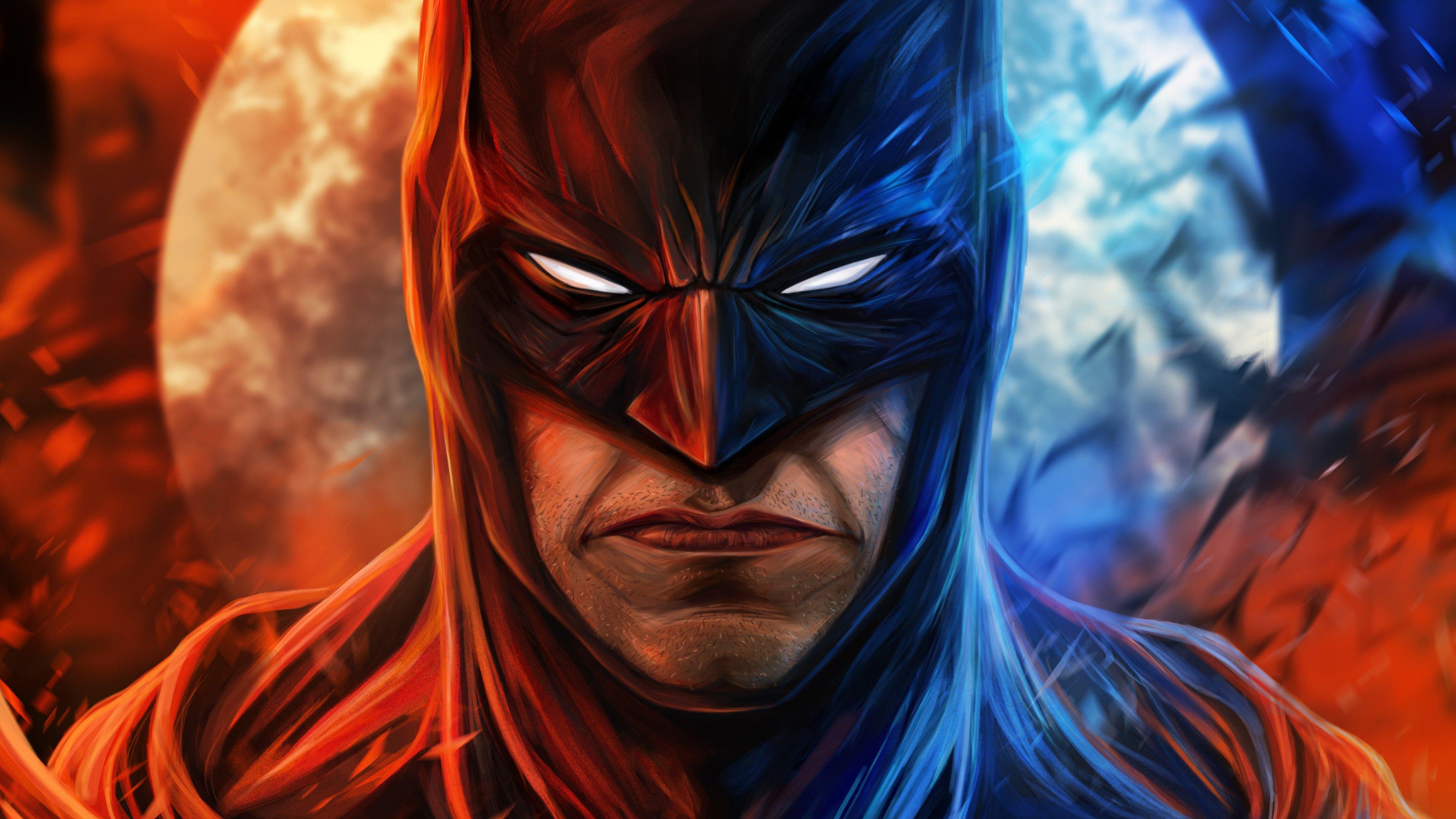 Wallpaper Batman angry