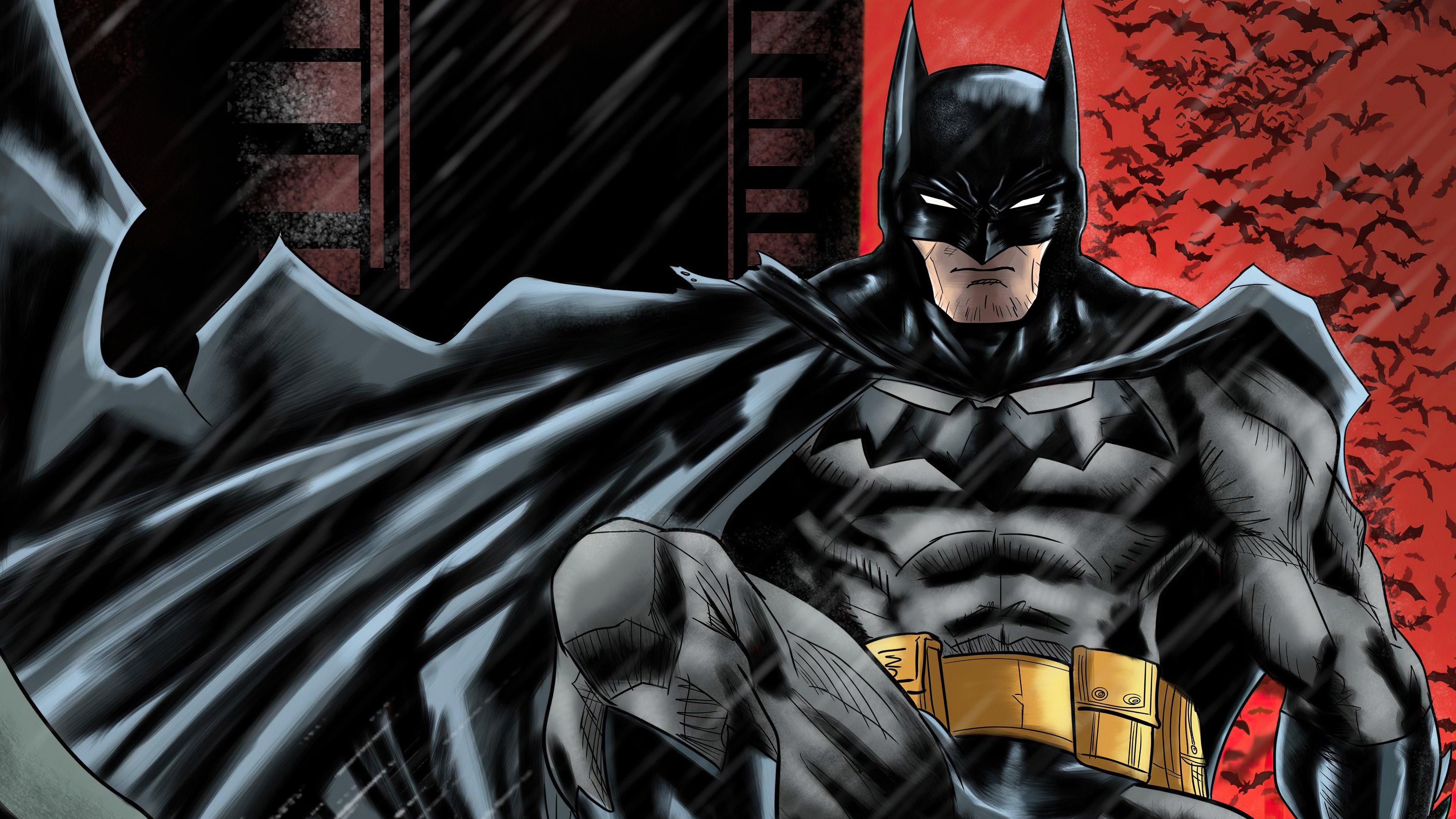 Fondos de pantalla Batman Ilutración digital