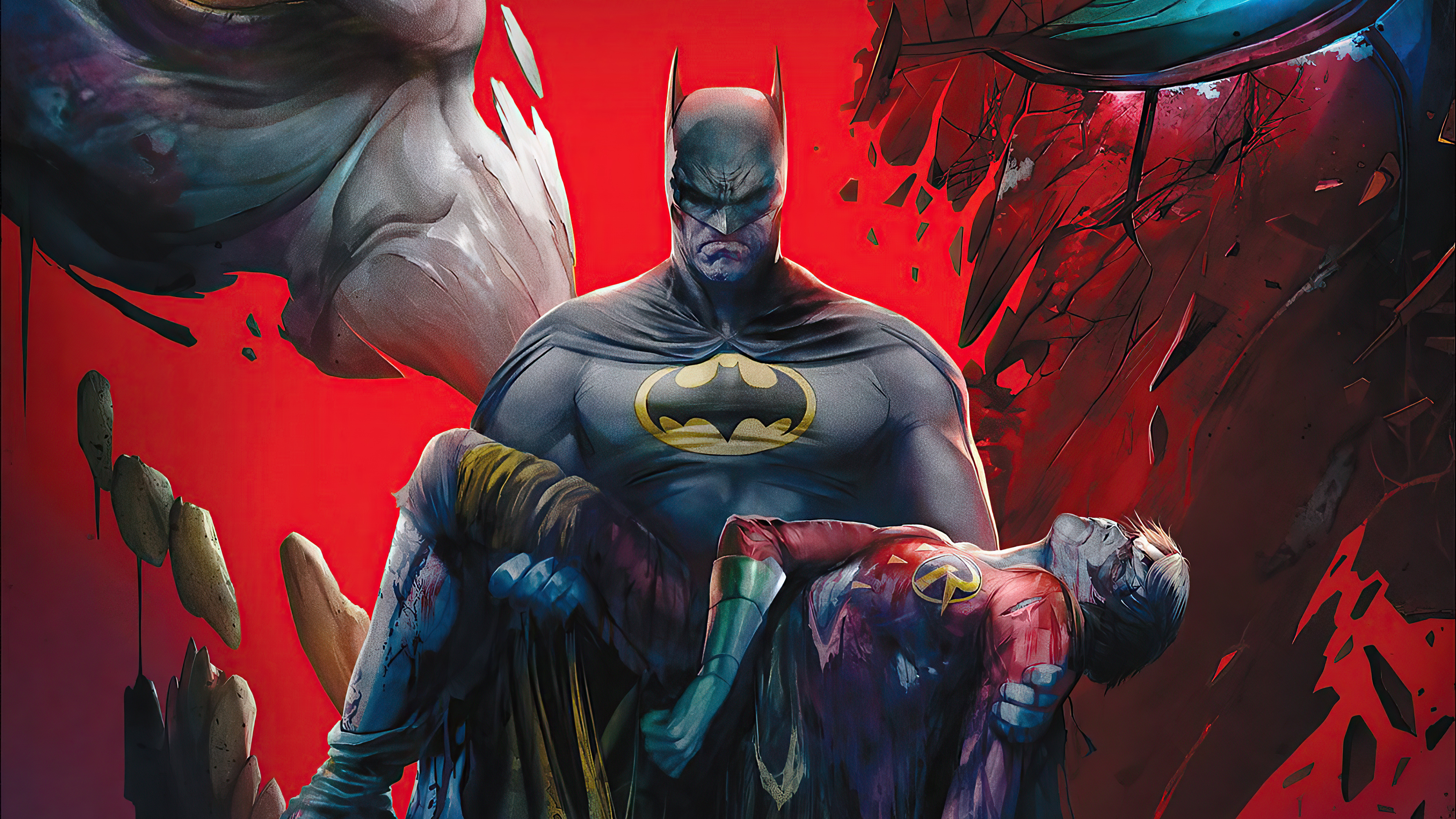 Fondos de pantalla Batman: La muerte de la familia