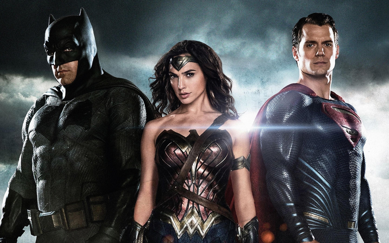 Fondos de pantalla Batman, la mujer maravilla y superman