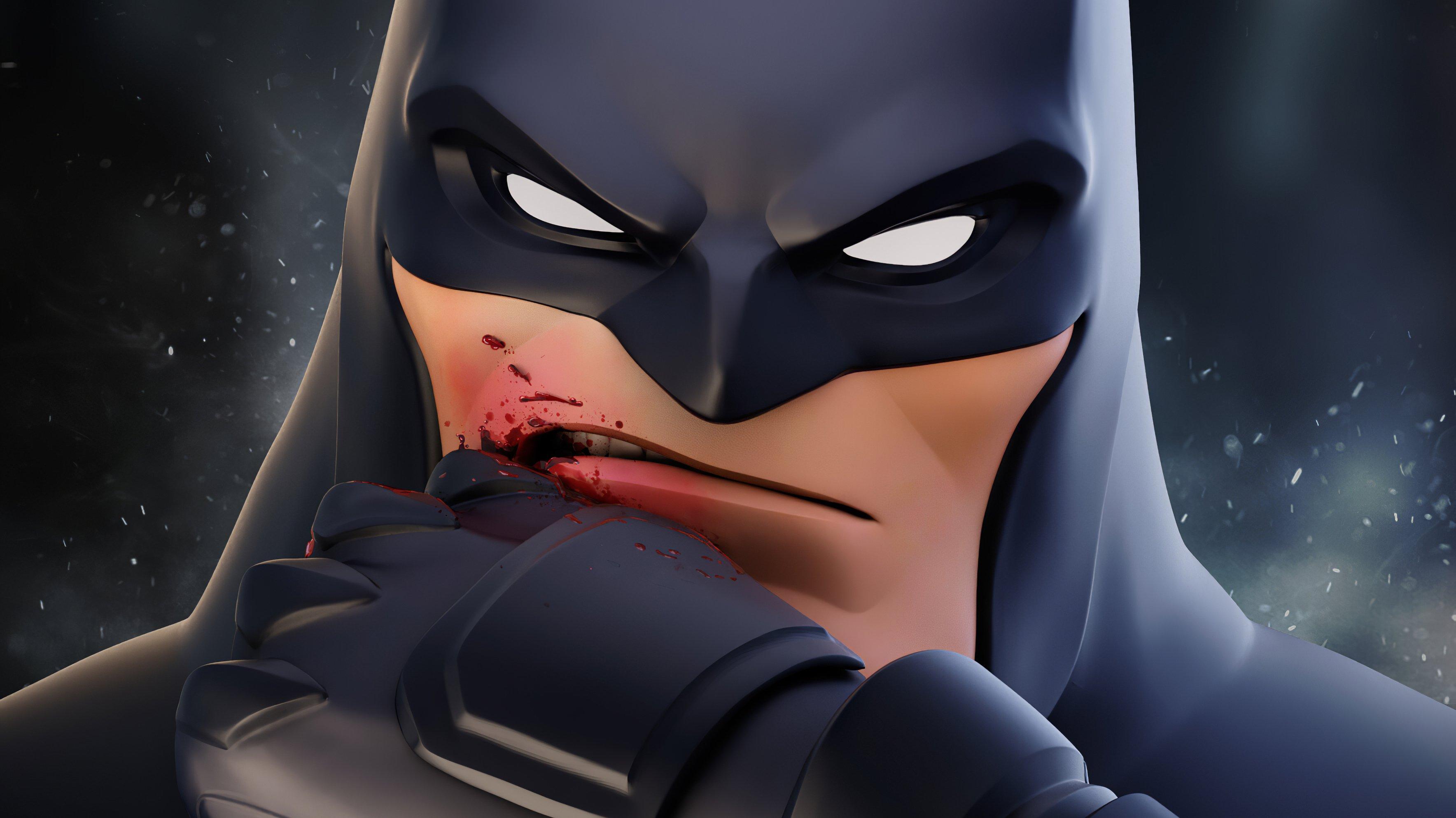 Fondos de pantalla Batman lastimado