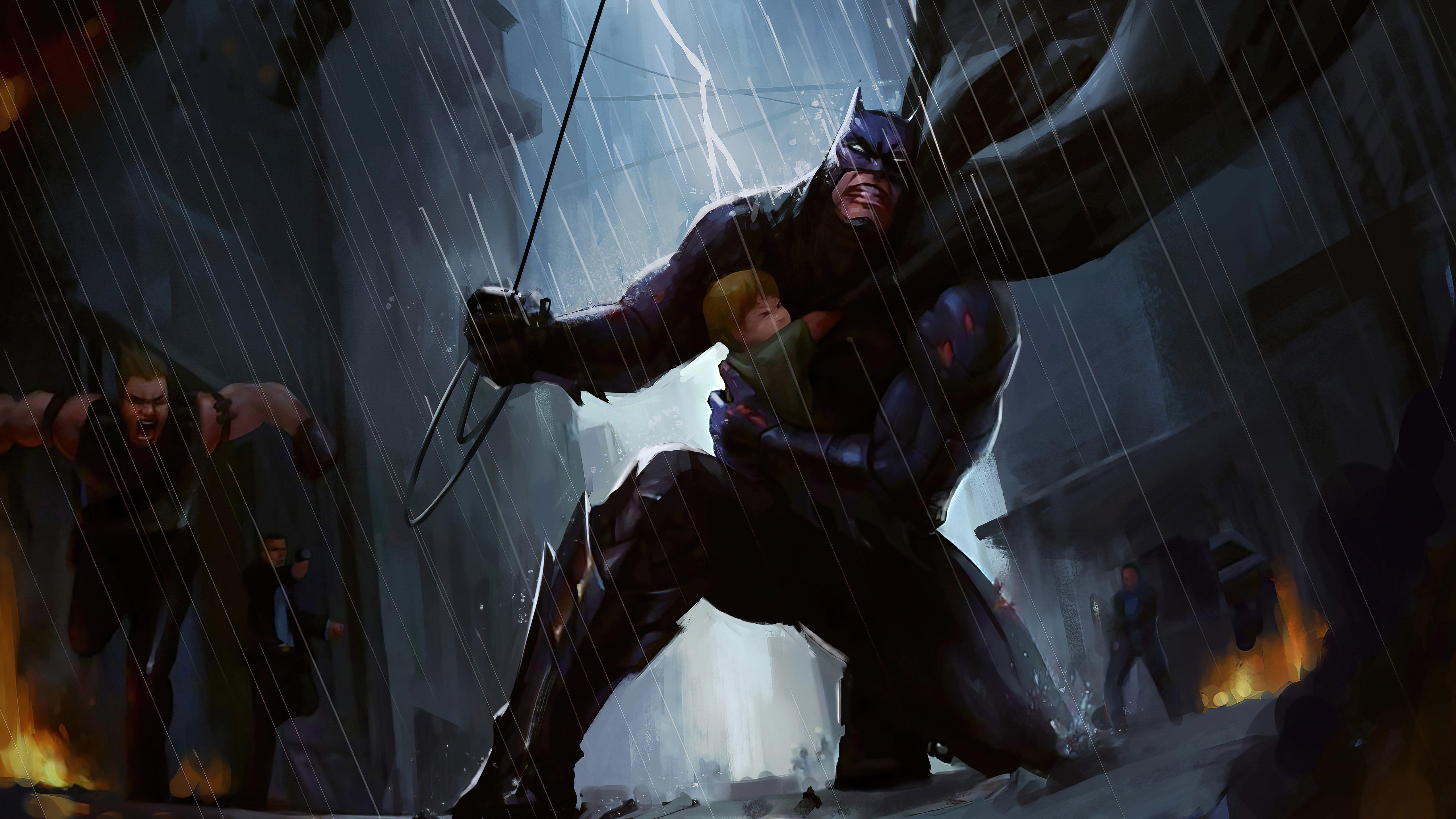 Fondos de pantalla Batman Rescue
