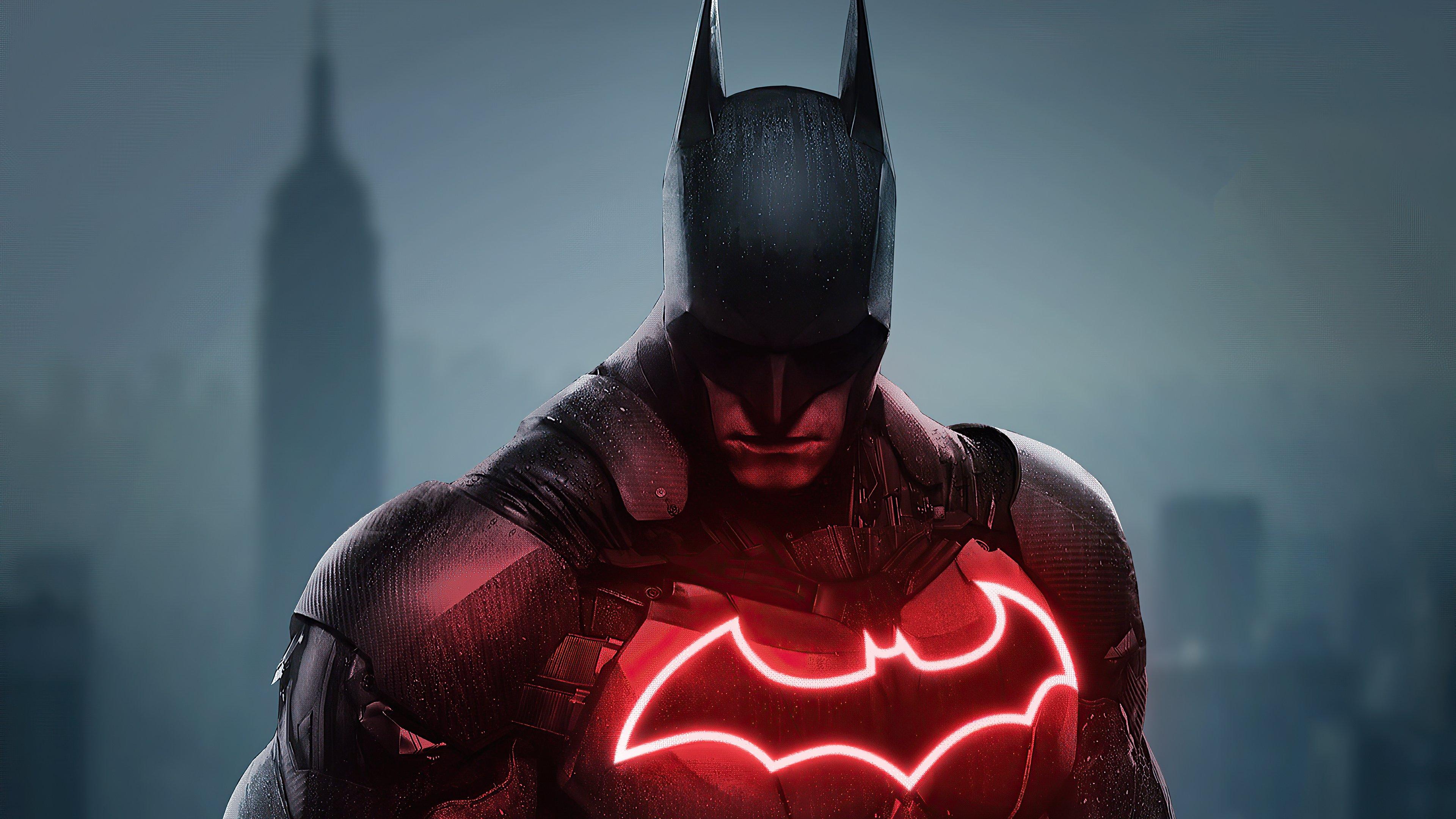 Wallpaper Batman red and black