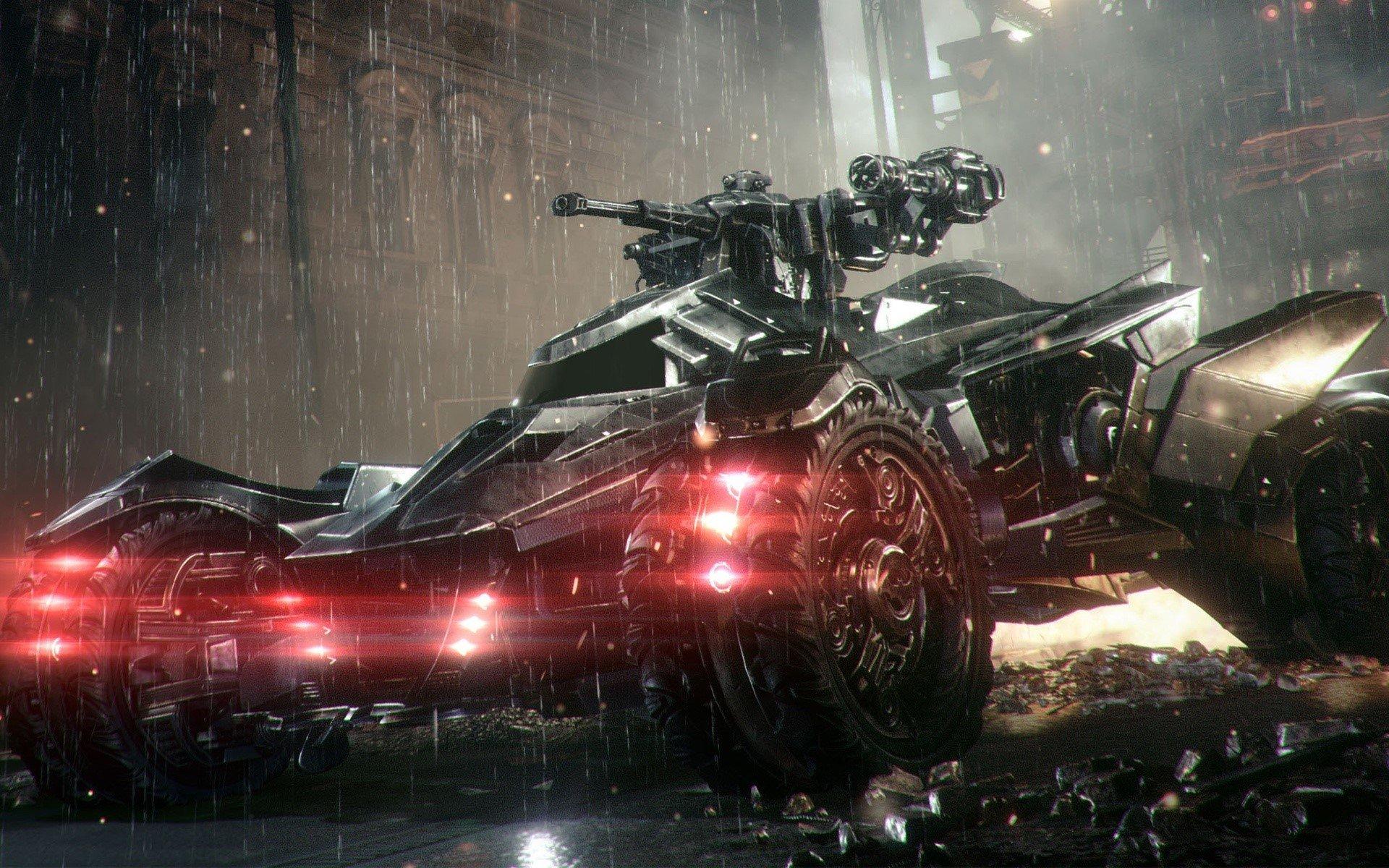 Fondos de pantalla Batmobilen en Arkham Knight