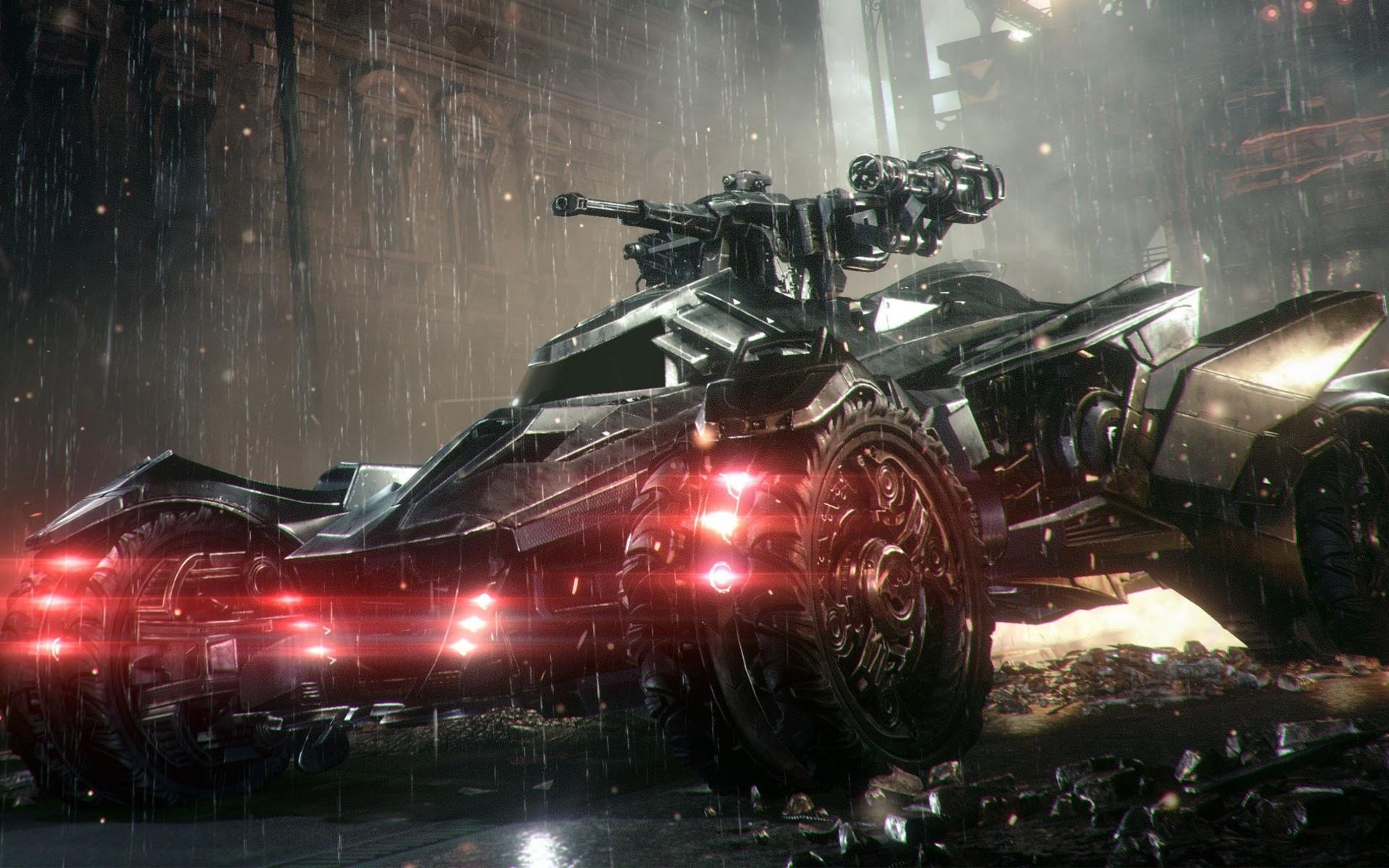 Wallpaper Batmobilen in Arkham Knight