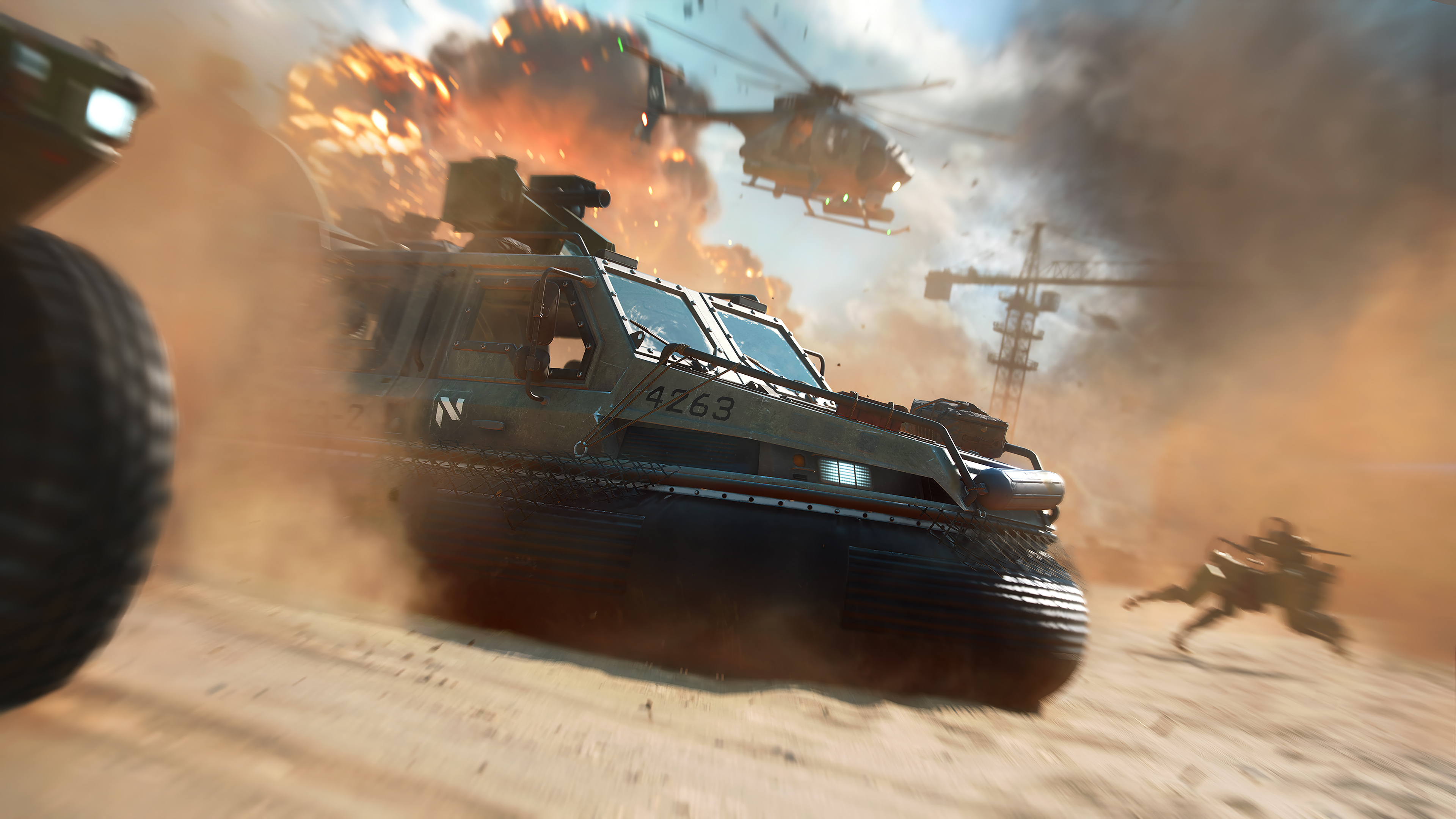 Fondos de pantalla Battlefield 2042