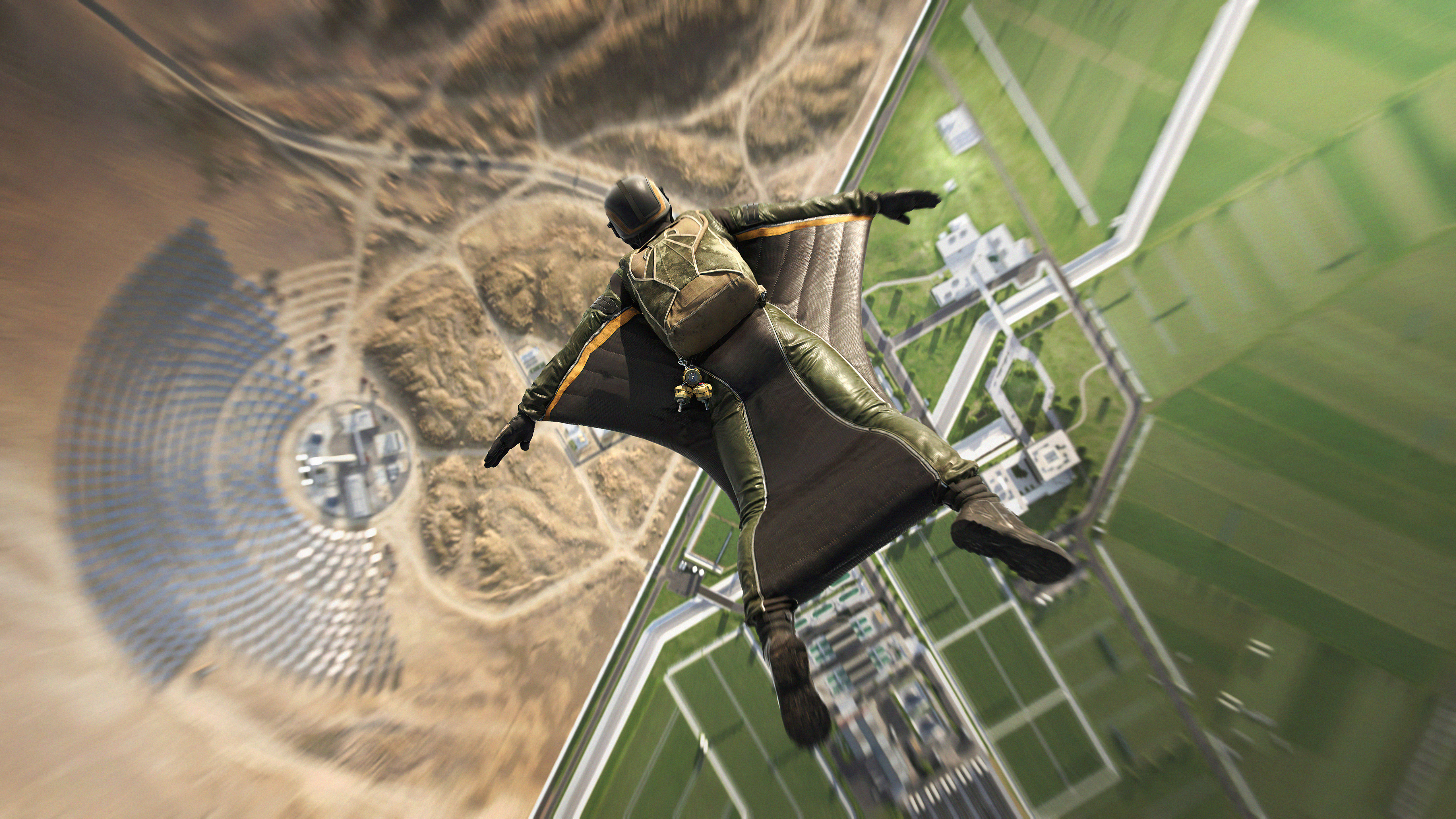 Wallpaper Battlefield 2042 Wingsuit