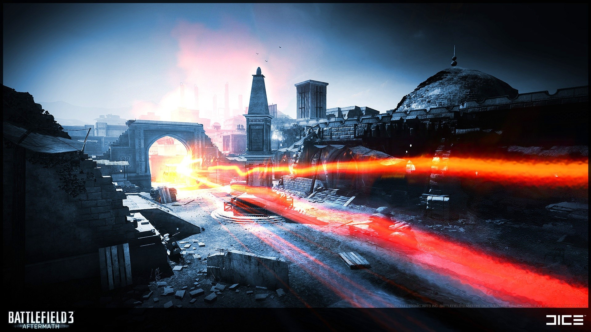 Wallpaper Battlefield 3 Aftermath