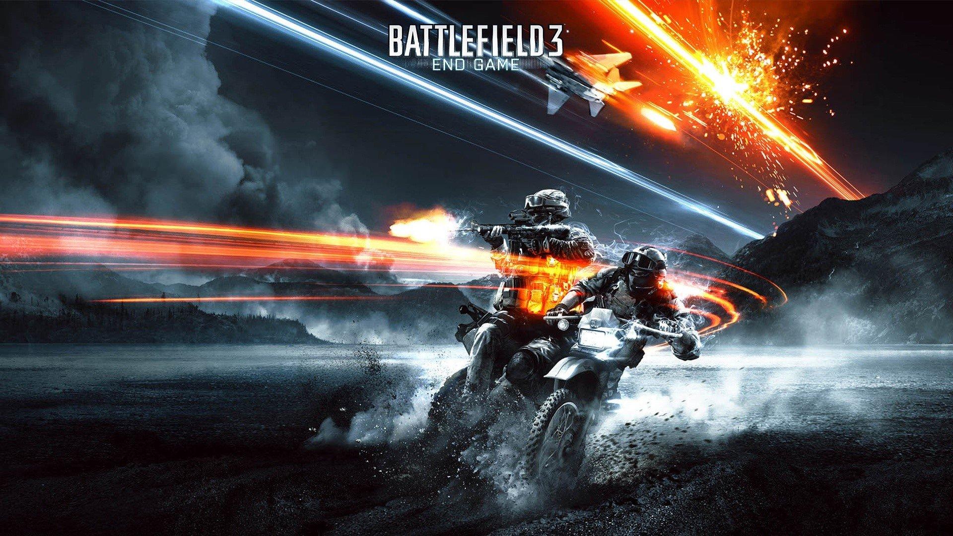Wallpaper Battlefield 3 End game
