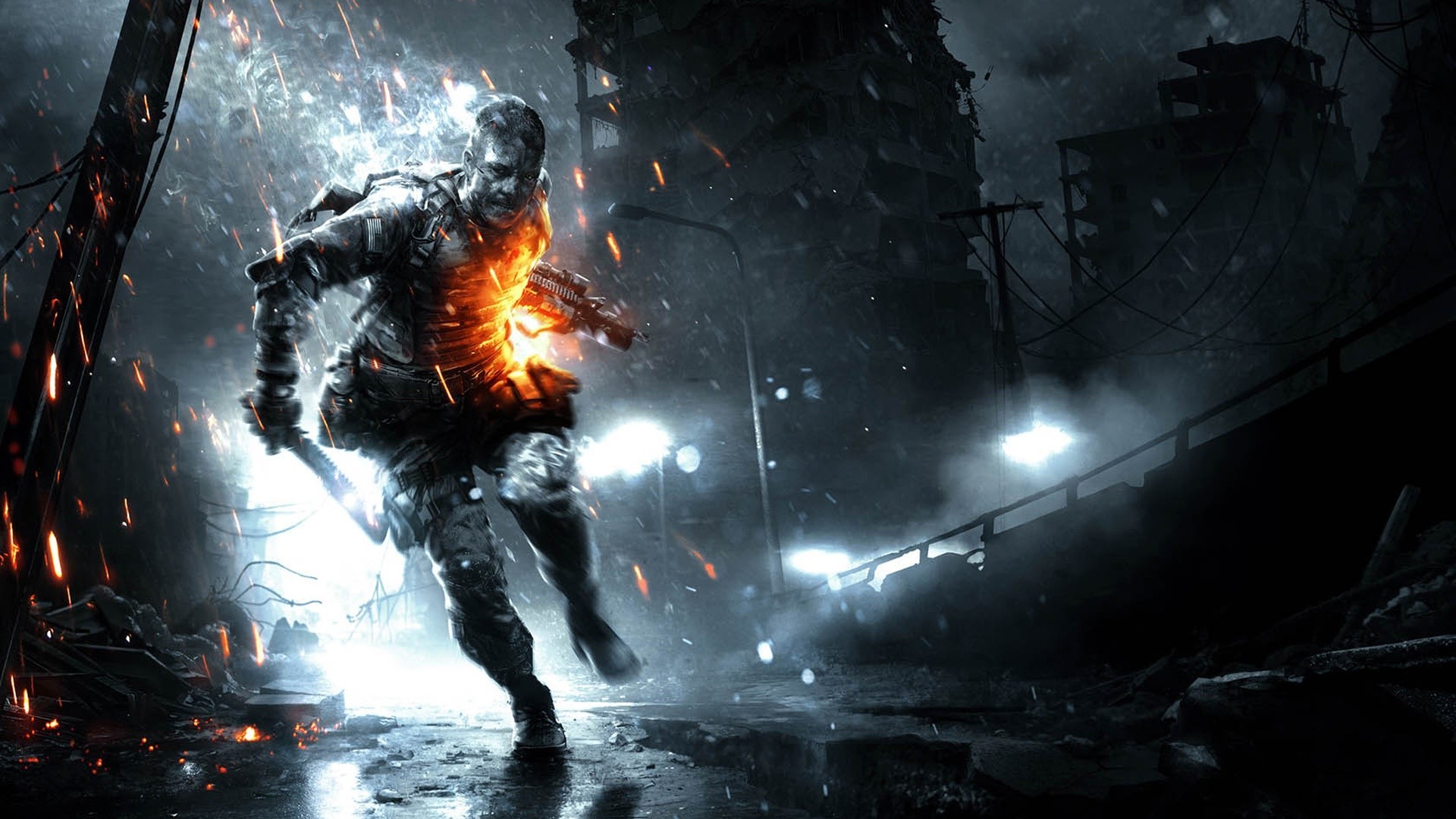 Wallpaper Battlefield 3 Premium Aftermath