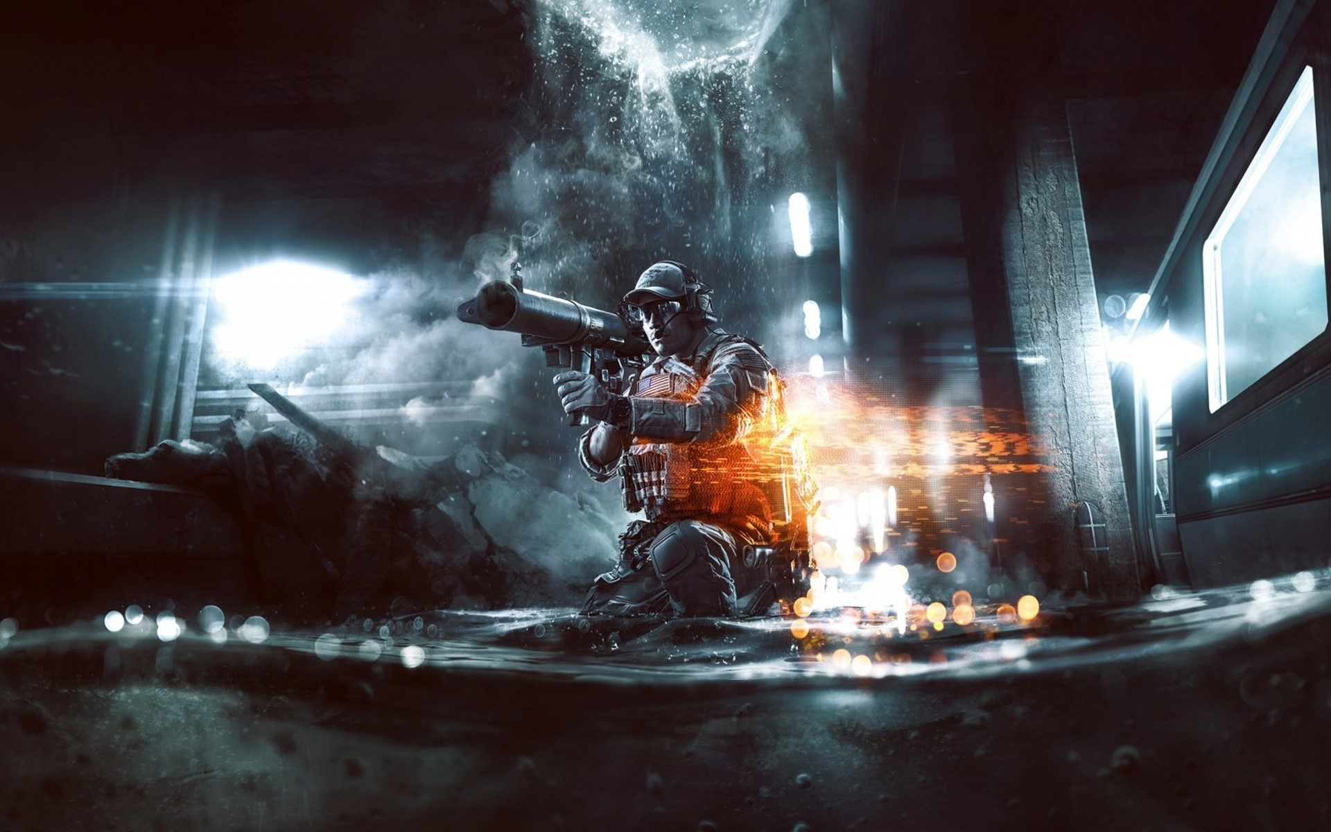 Wallpaper Battlefield 4 Second Assault
