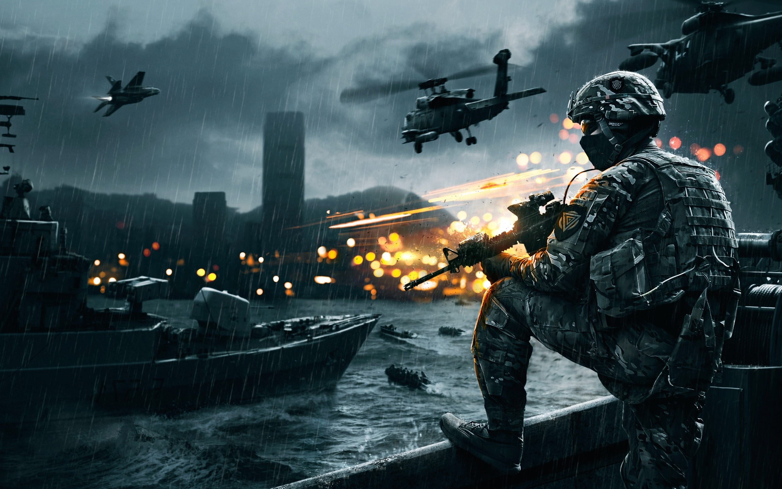 Wallpaper Battlefield 4 Siege of Shanghai