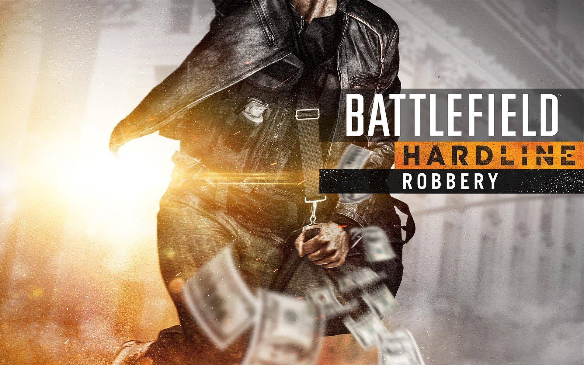 Wallpaper Battlefield Hardline Robbery