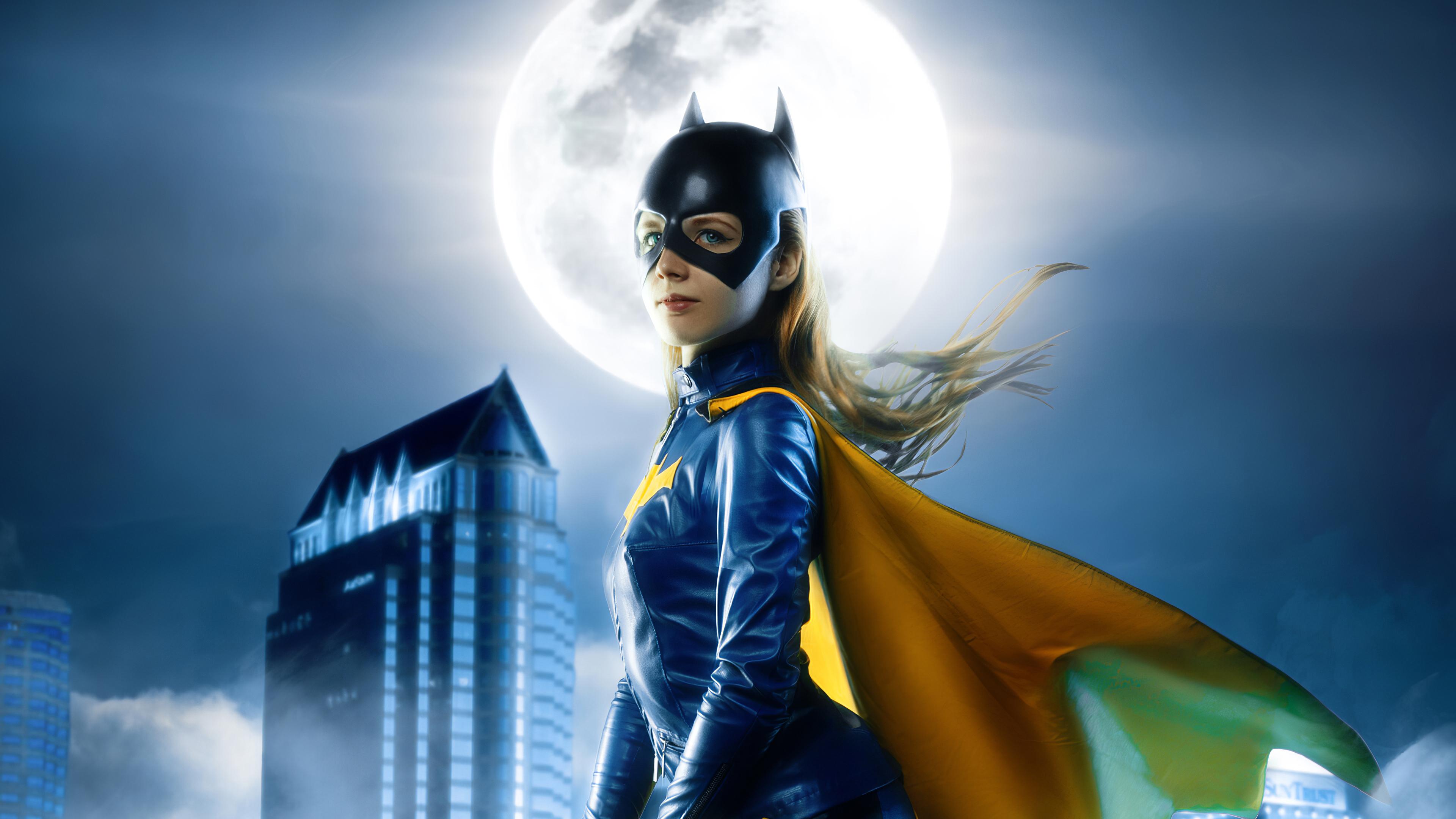 Fondos de pantalla Batwoman durante la noche