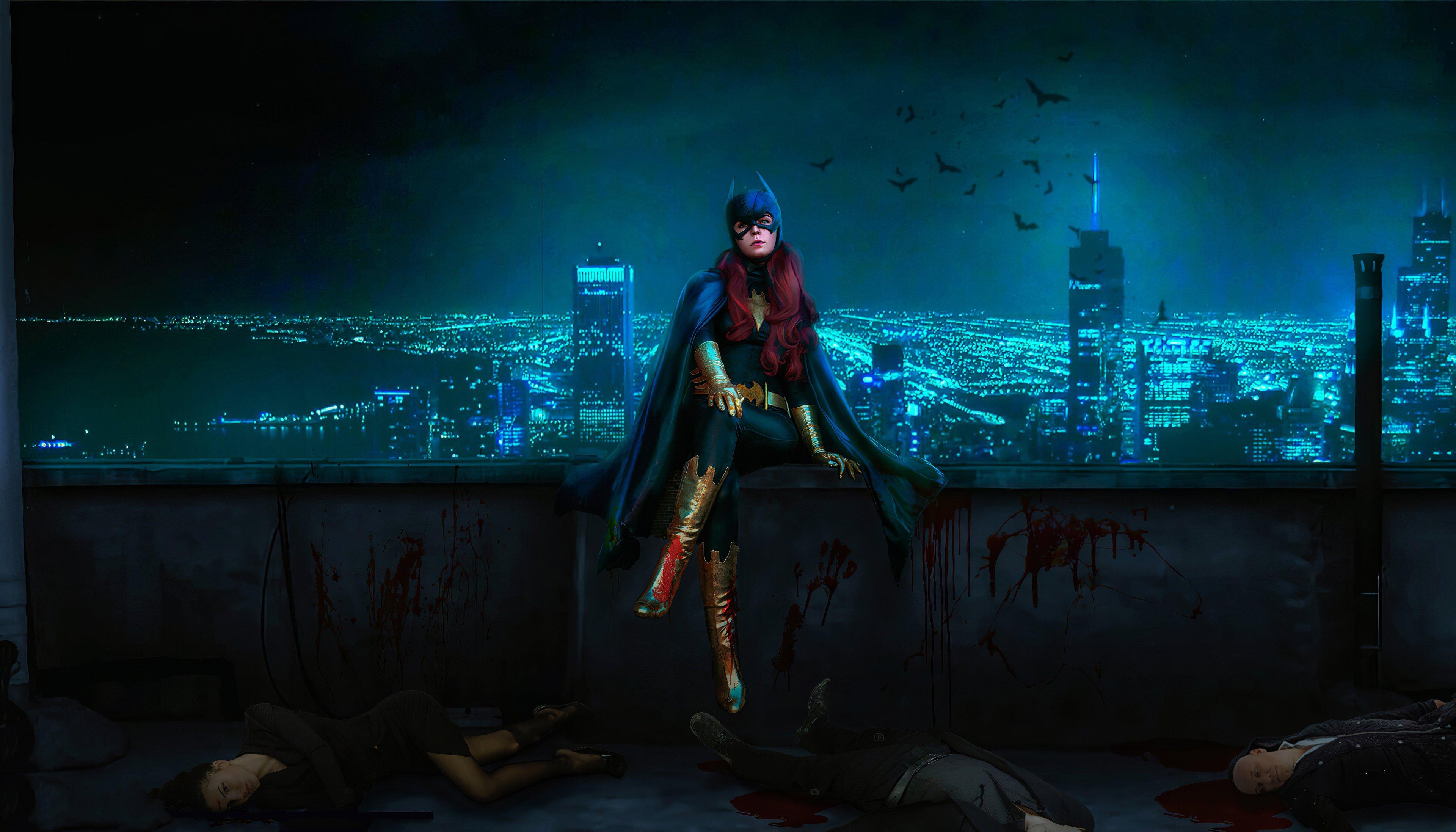 Fondos de pantalla Batwoman en Ciudad Gótica