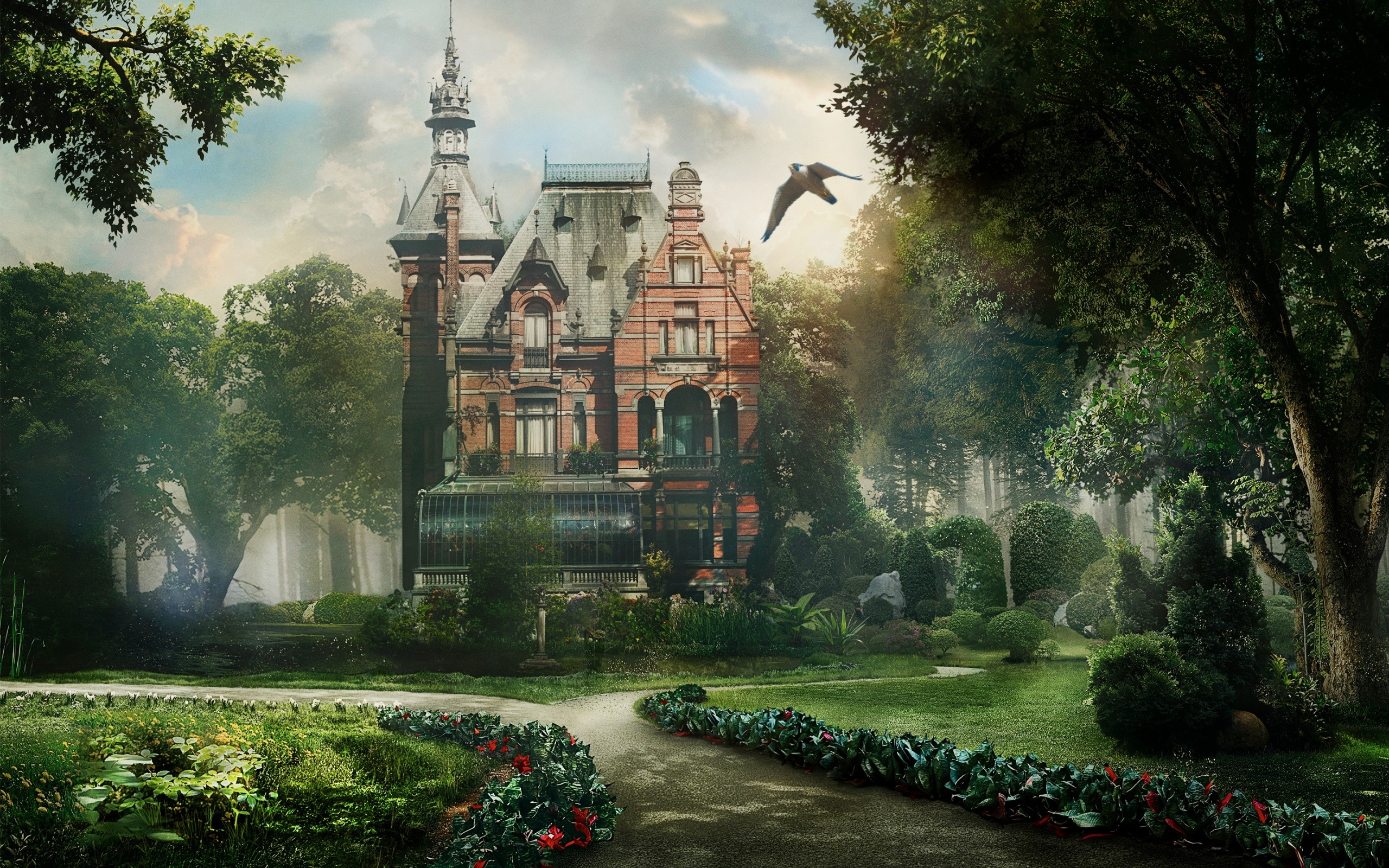 Fondos de pantalla Beautiful Fantasy Deam Home