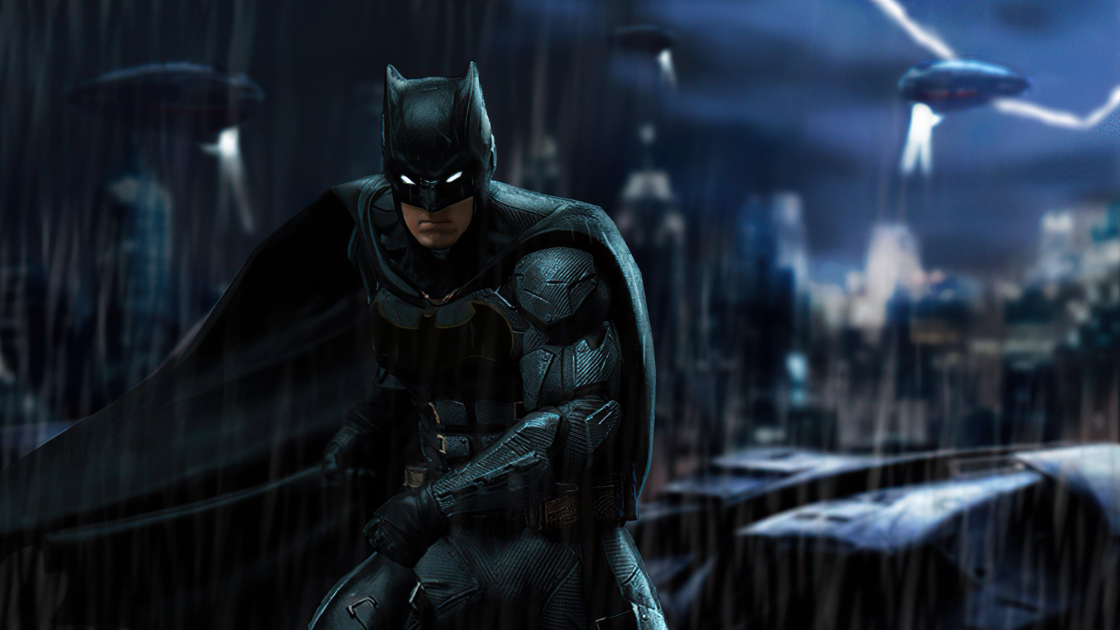 Wallpaper Ben Affleck as Batman Fanart