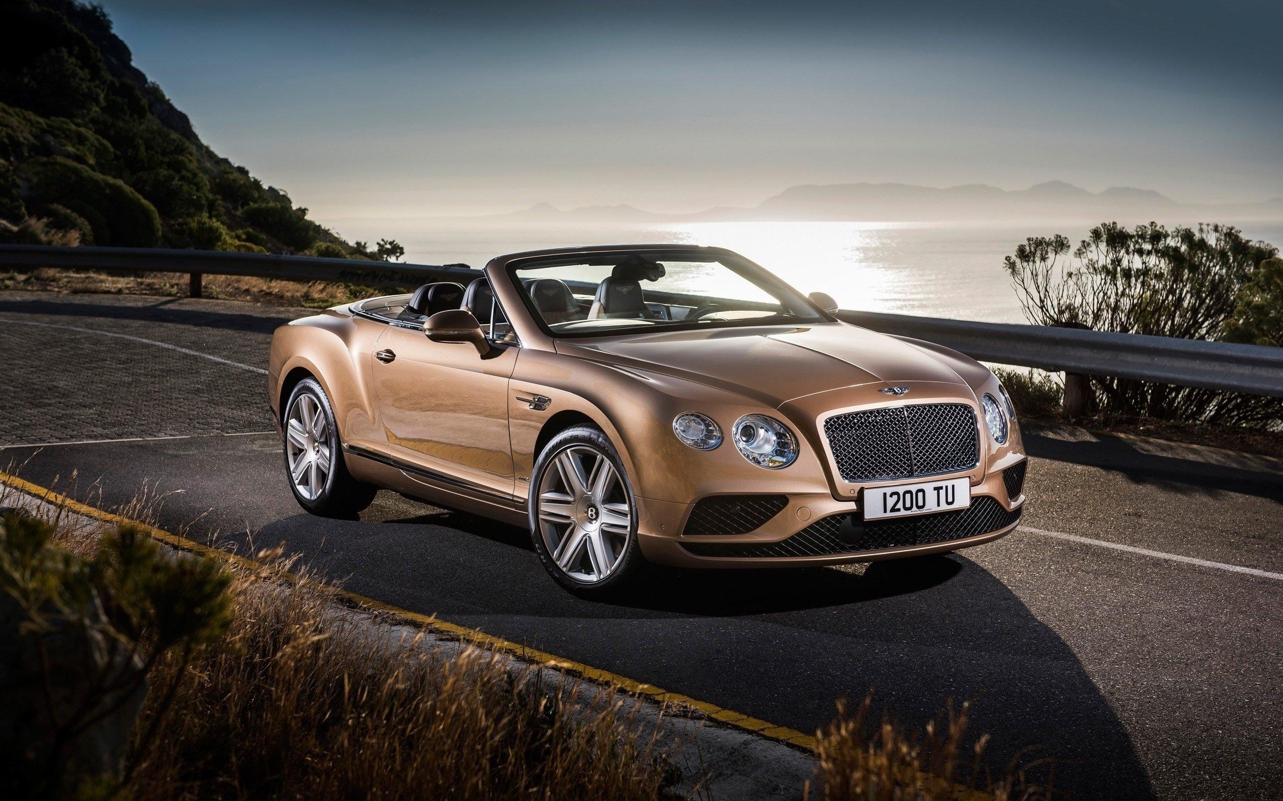 Fondos de pantalla Bentley Continental GT convertible