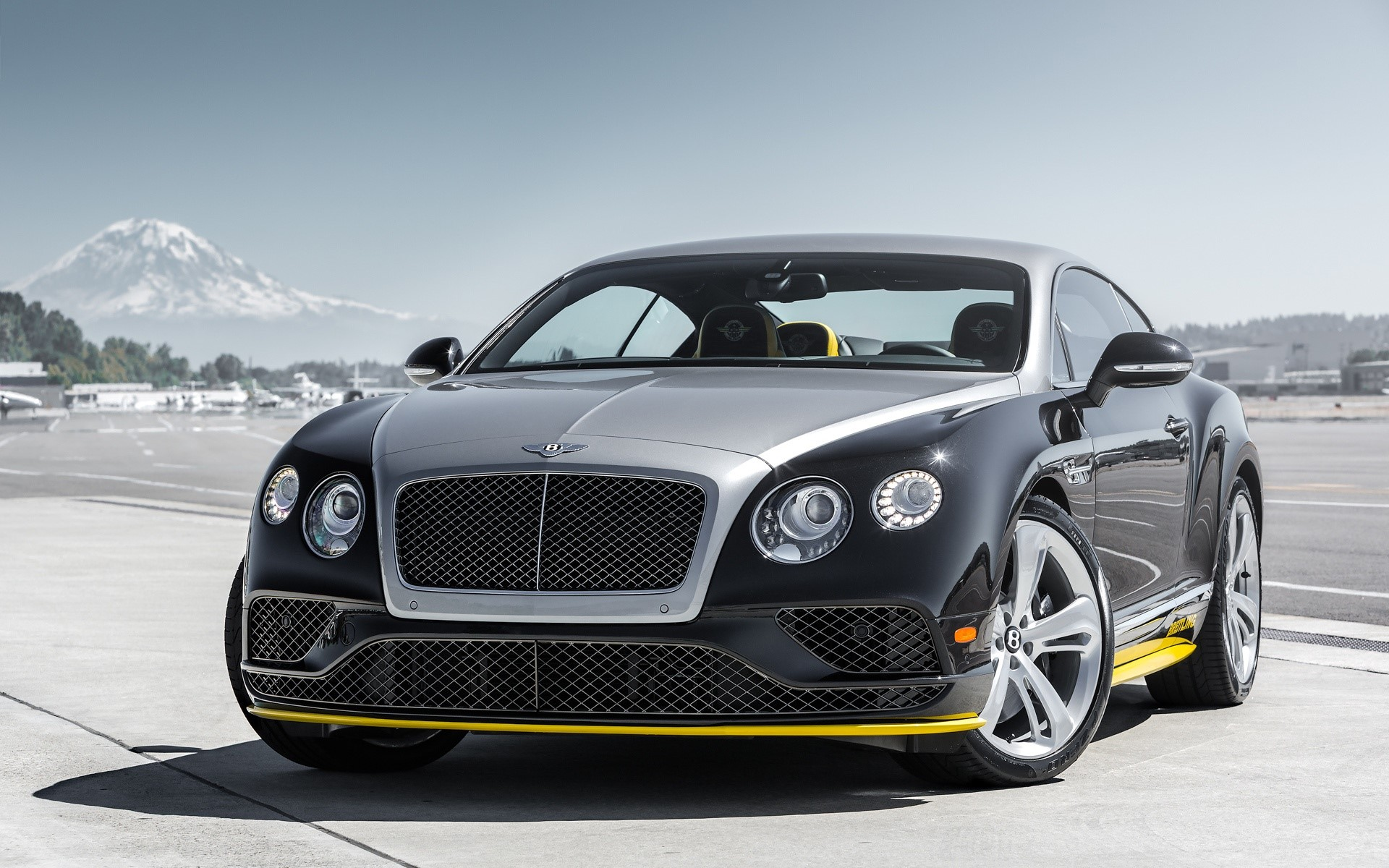 Wallpaper Bentley Continental GT black