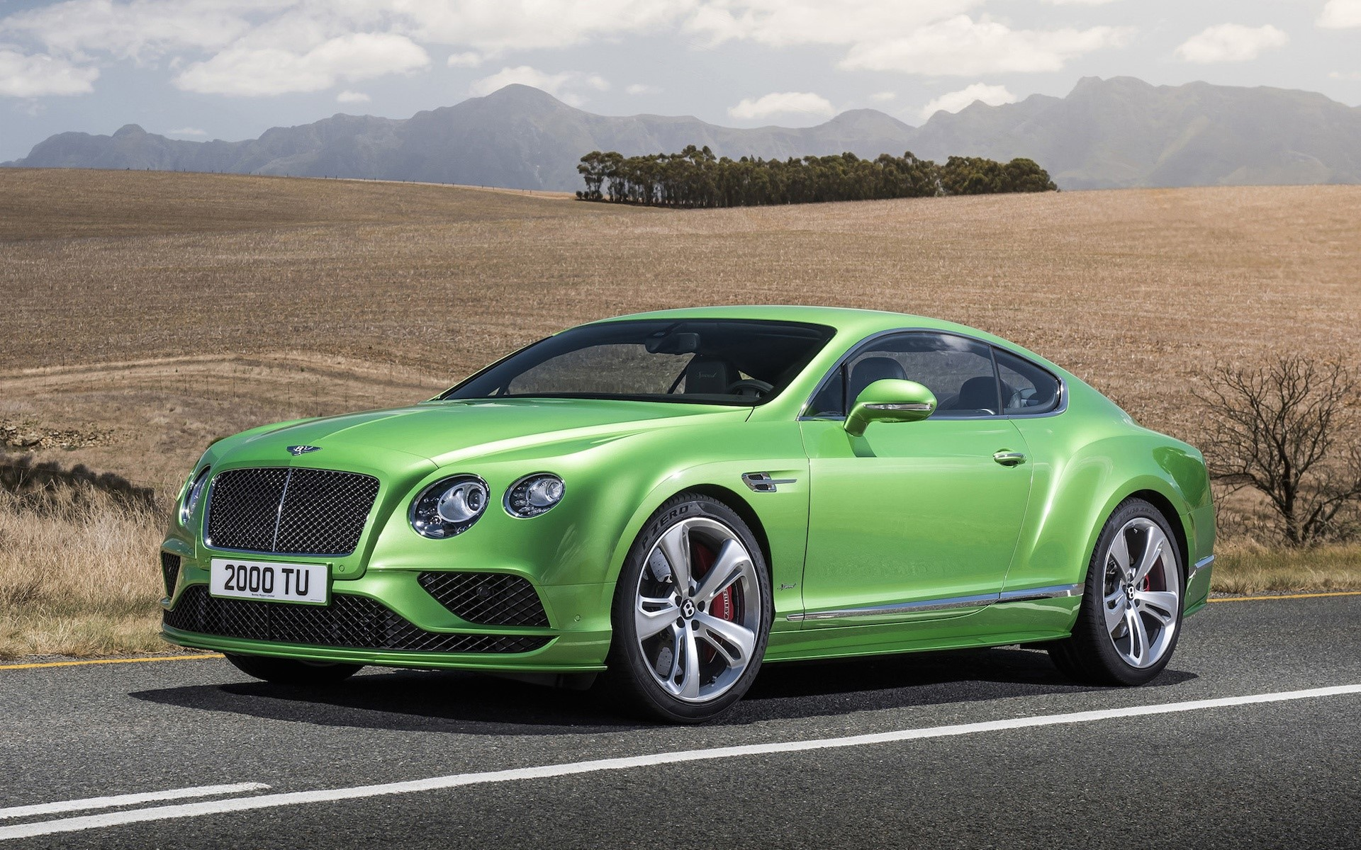 Wallpaper Bentley continental GT4