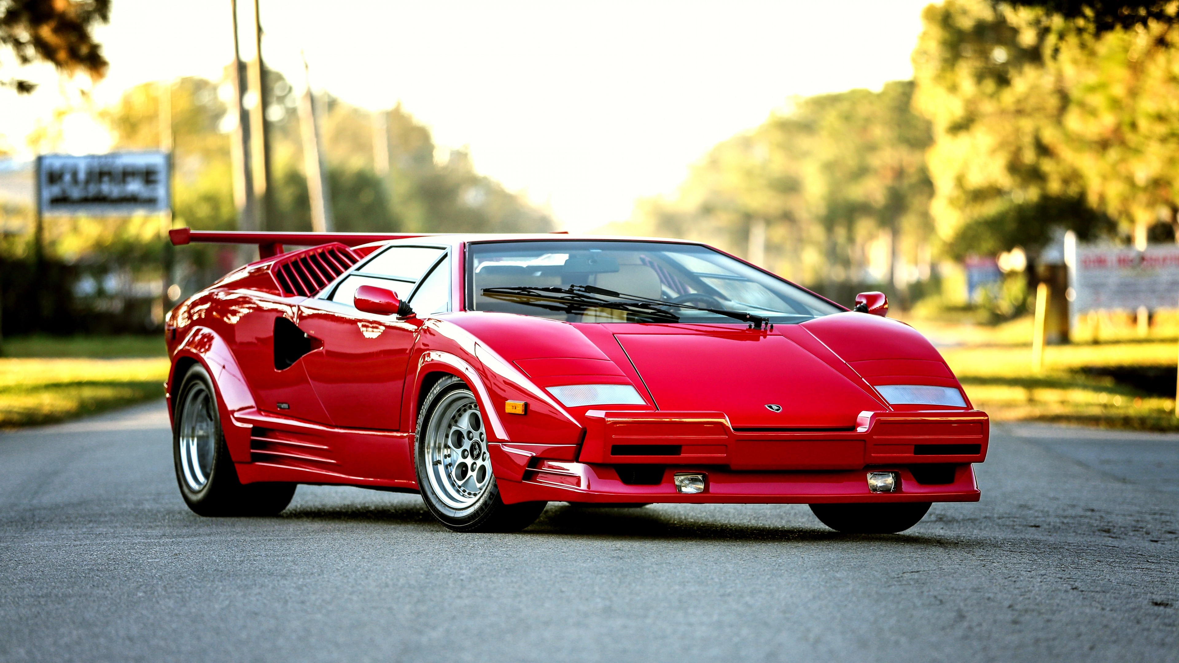 Wallpaper Bertone Lamborghini Countach Rojo Images