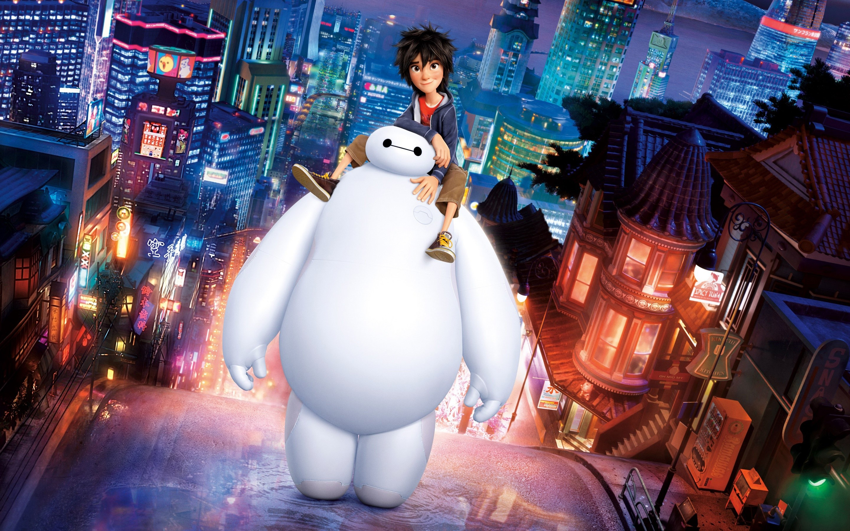 Wallpaper Big Hero 6 Baymax