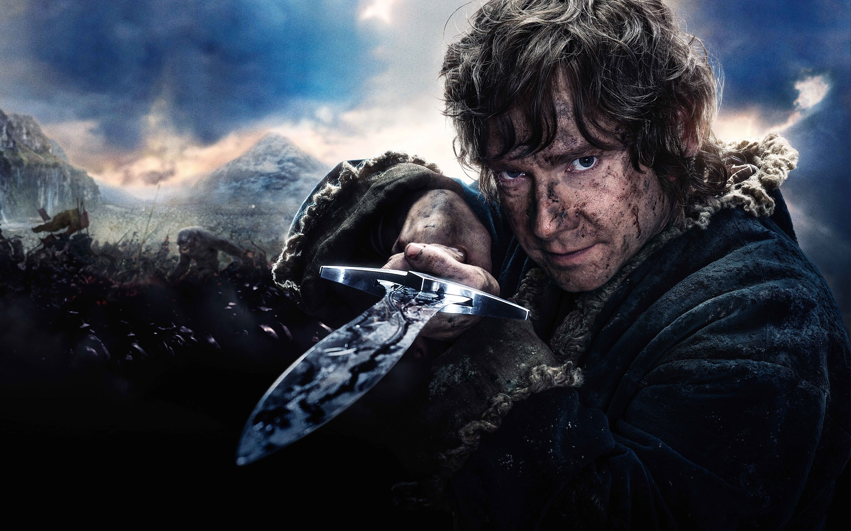 Fondos de pantalla Bilbo Baggins en El Hobbit 3