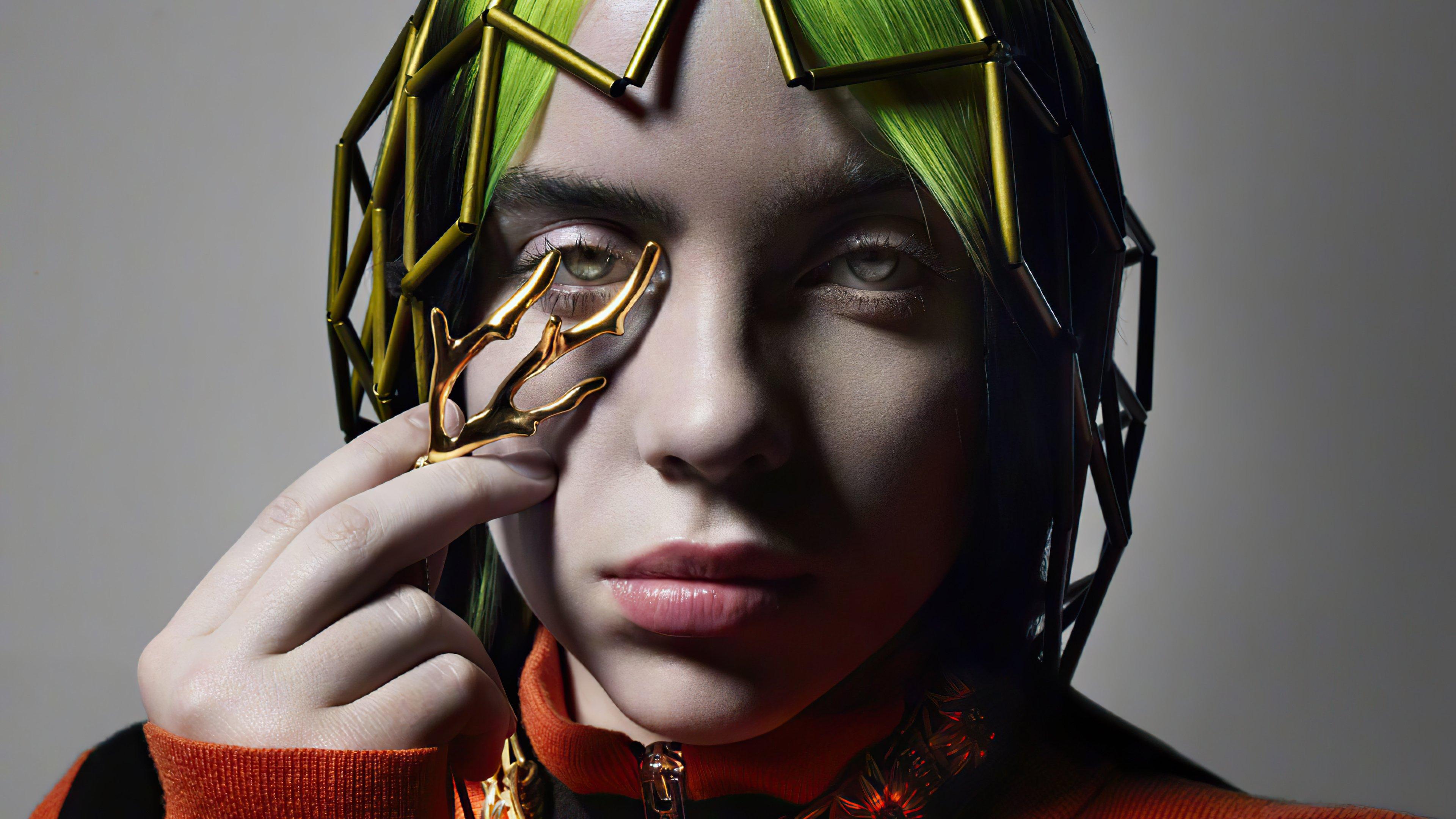 Fondos de pantalla Billie Eilish Photoshoot para Vogue