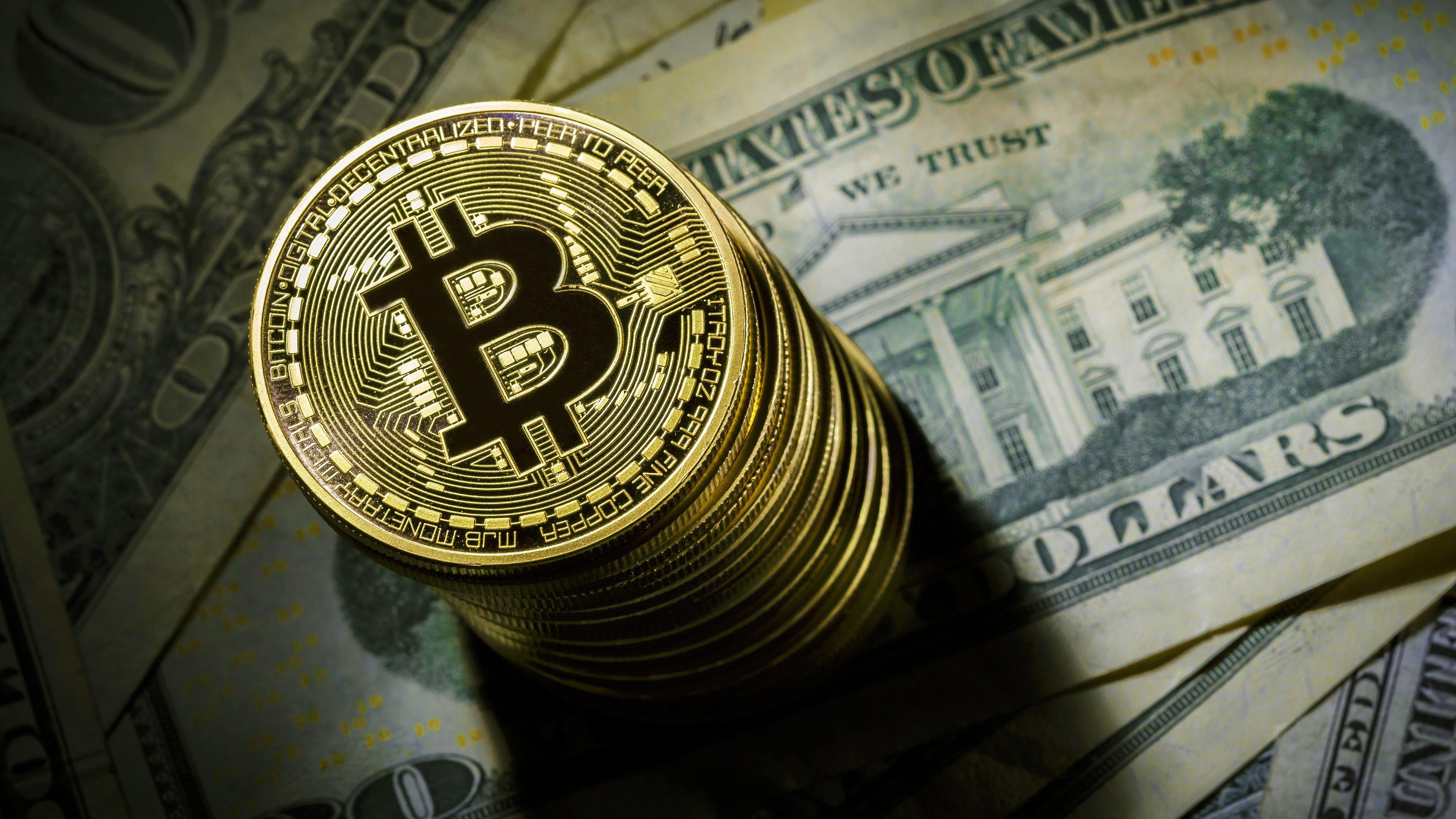 Fondos de pantalla Bitcoin Criptomonedas