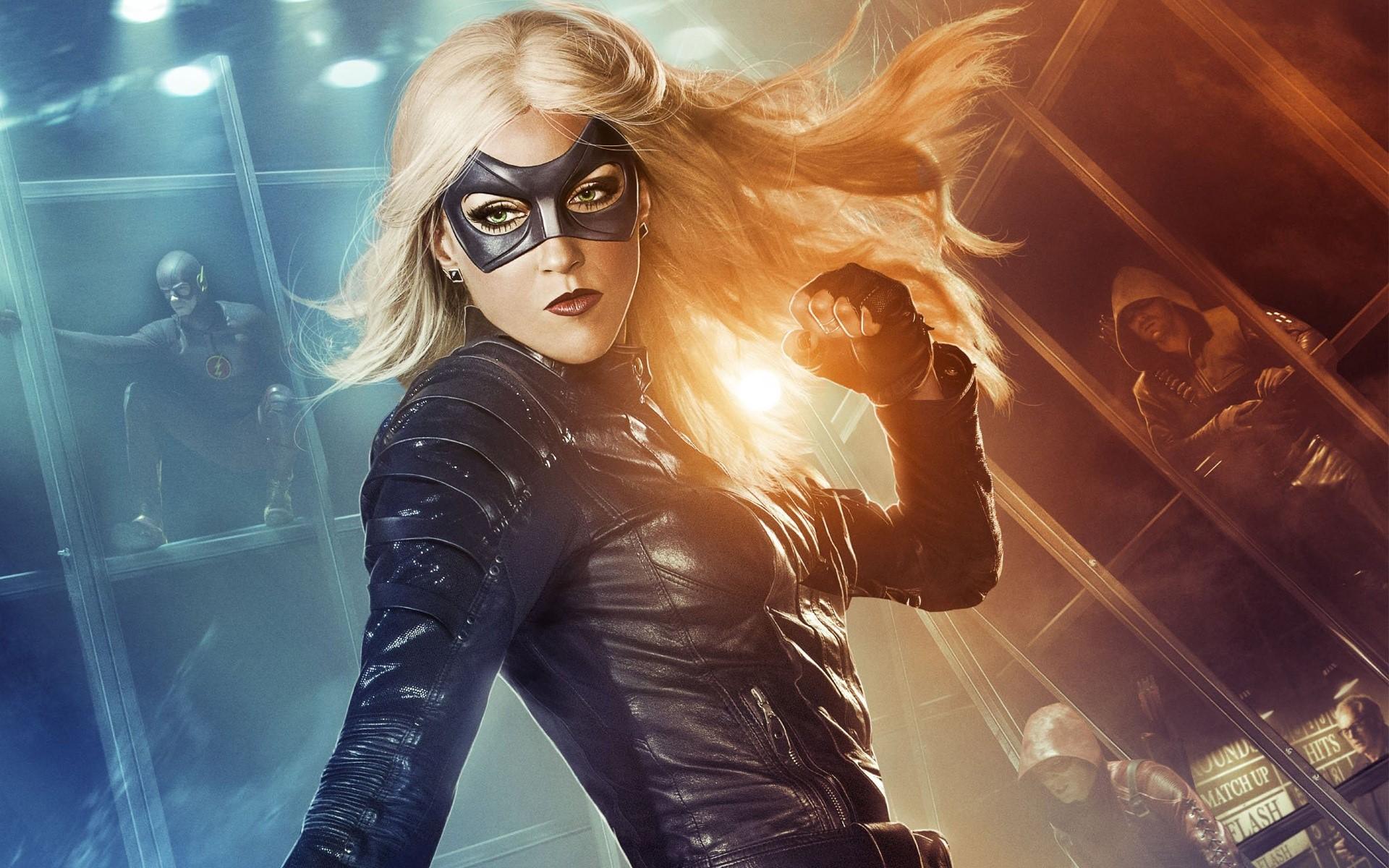 Wallpaper Black Canary on Arrow