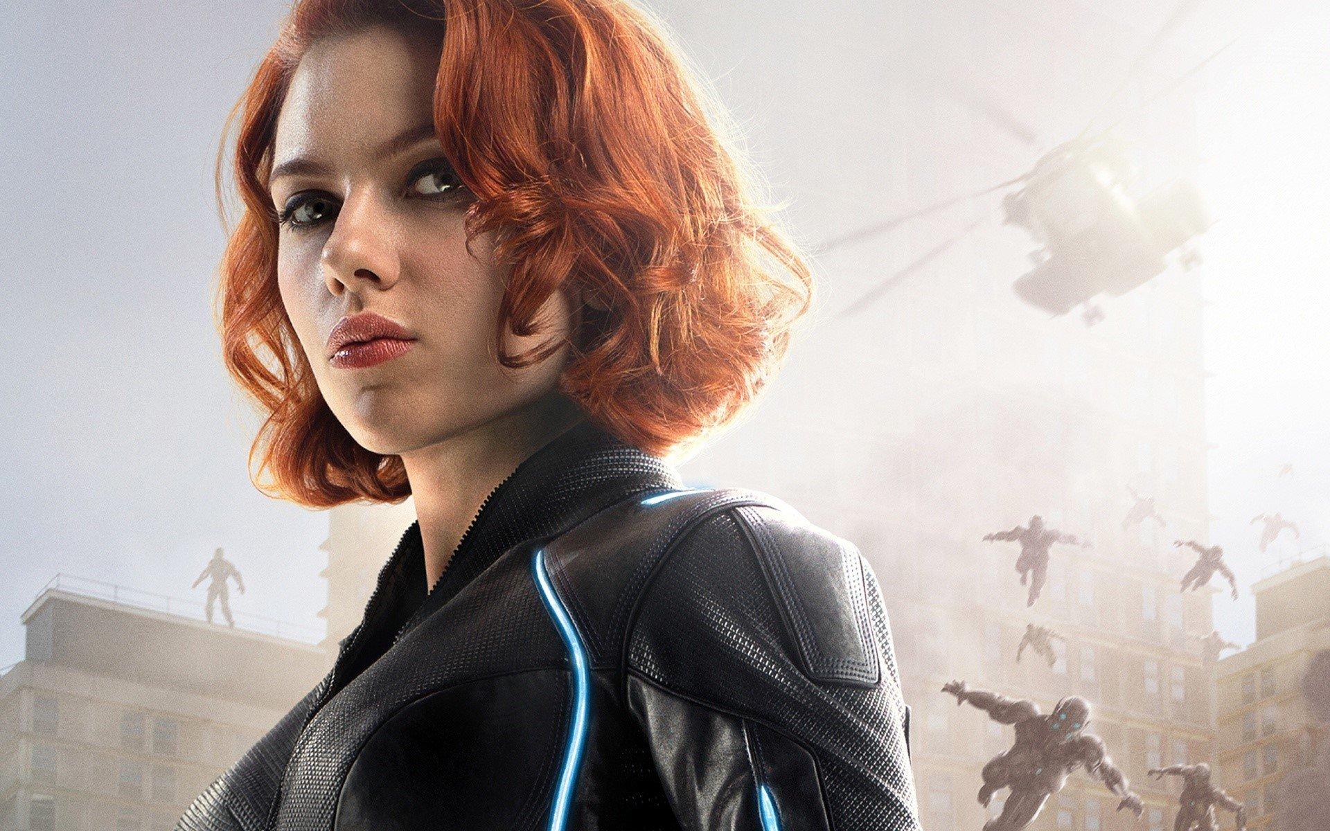 Wallpaper Black Widow in The Avengers Era of Ultron