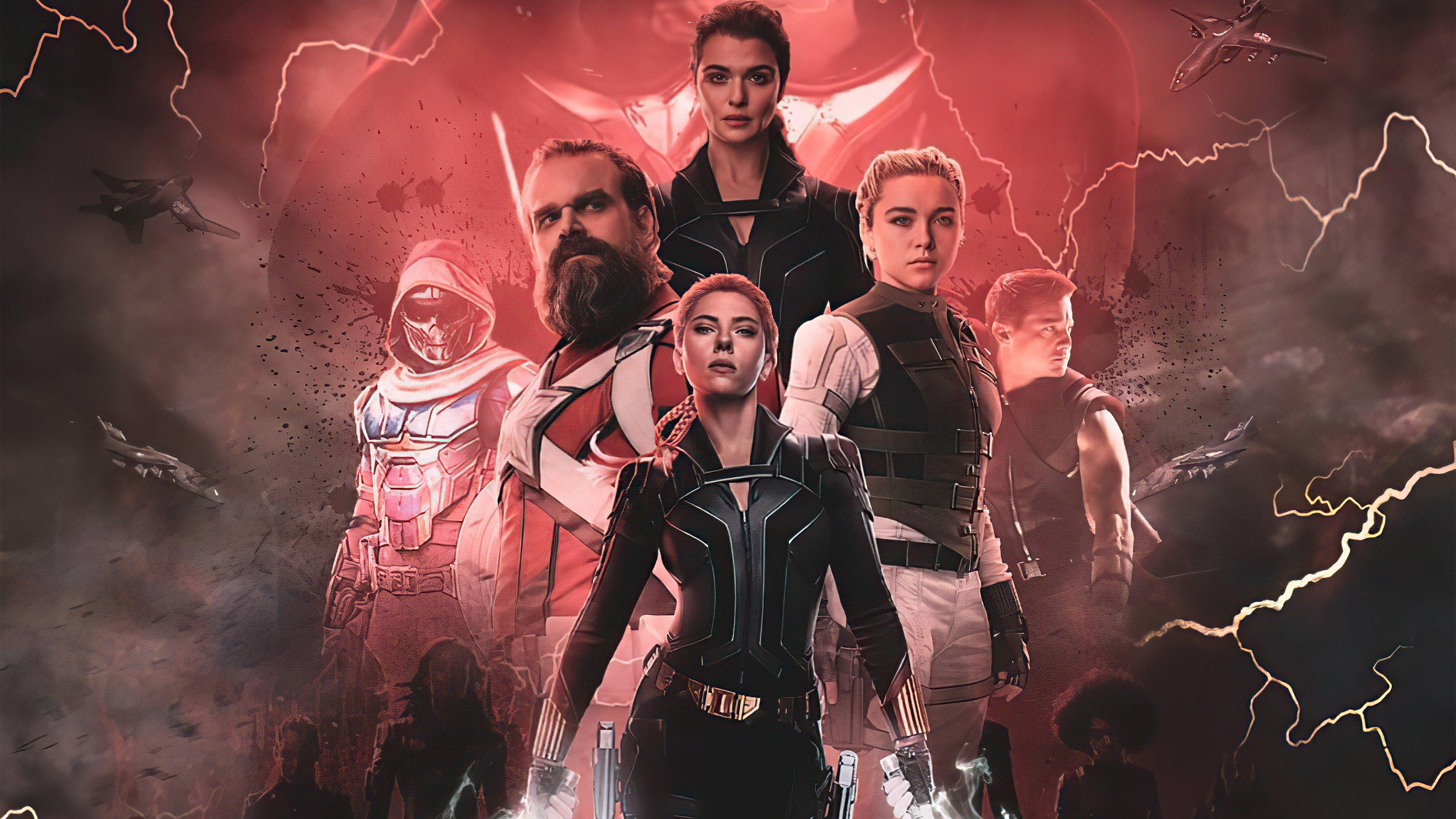 Wallpaper Black Widow Marvel Studios Fanart