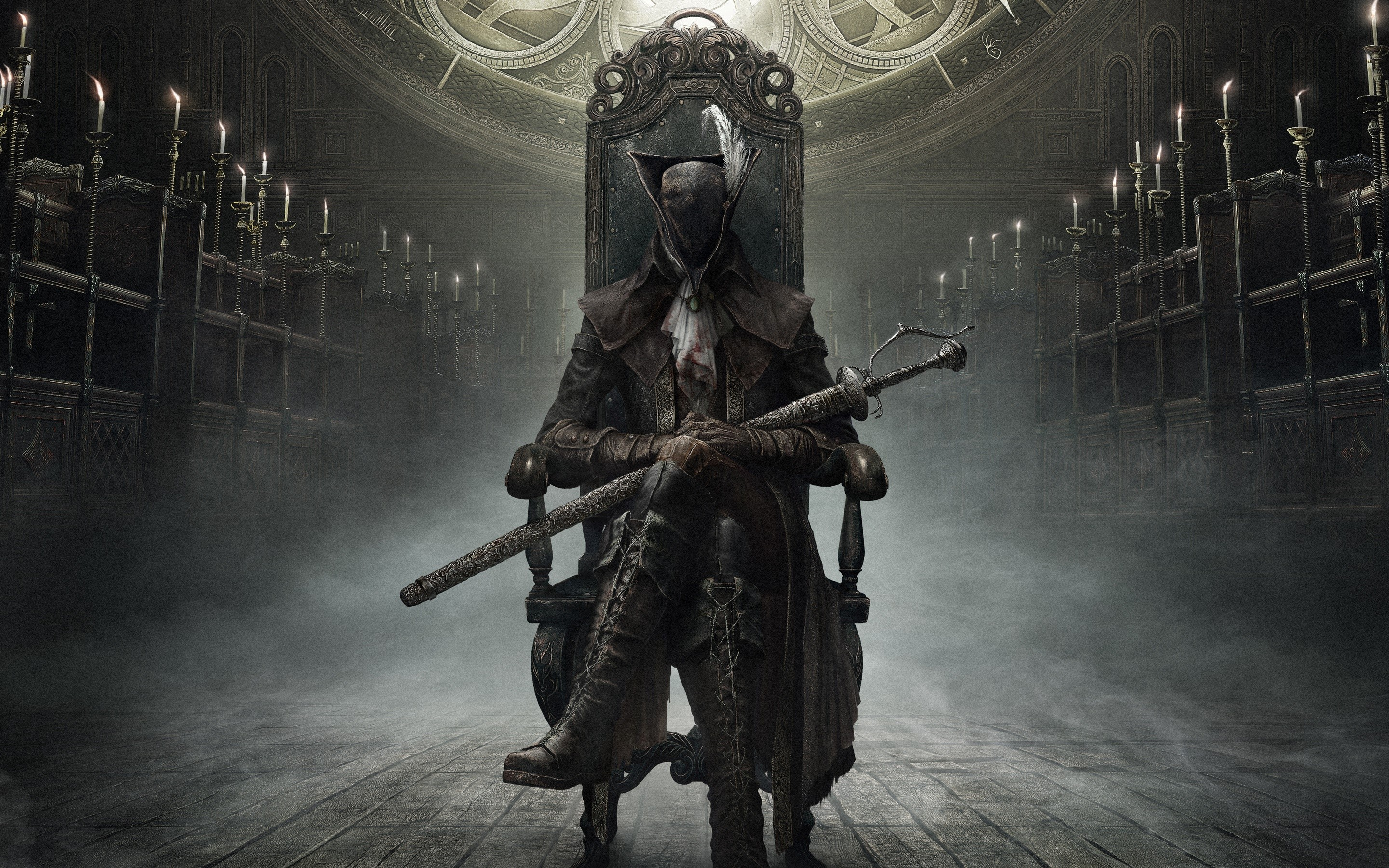 Wallpaper Bloodborne in The old hunters