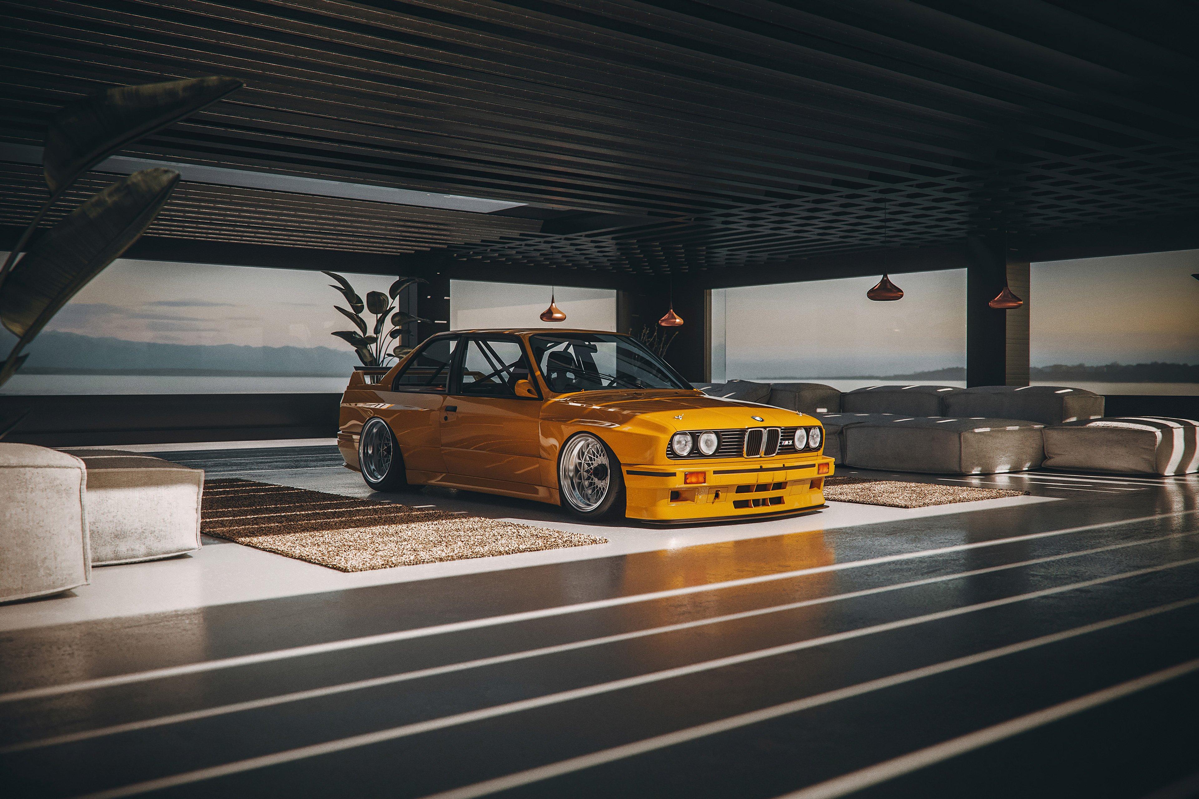 Fondos de pantalla BMW E30 DTM T7