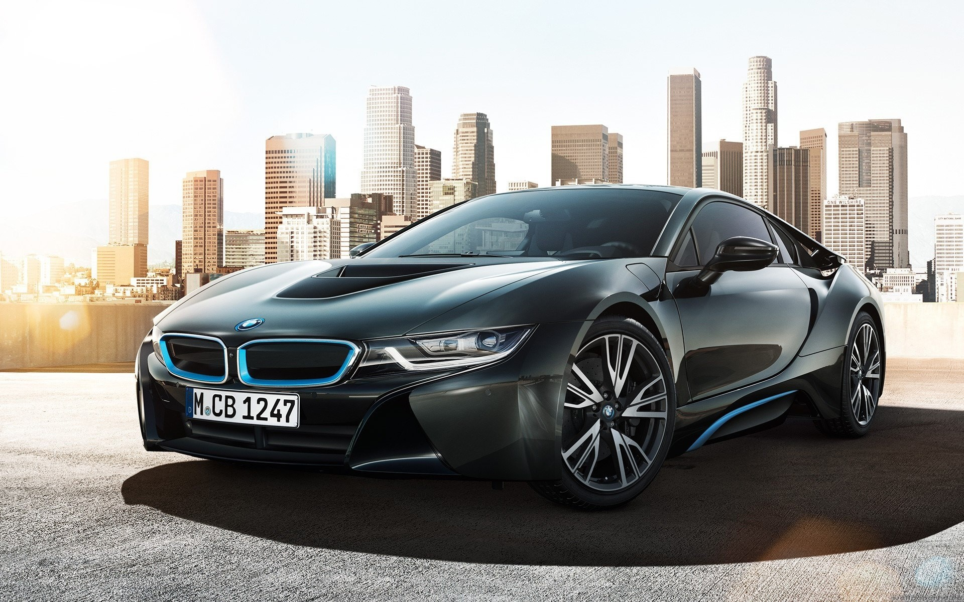 Wallpaper BMW i8 Concept