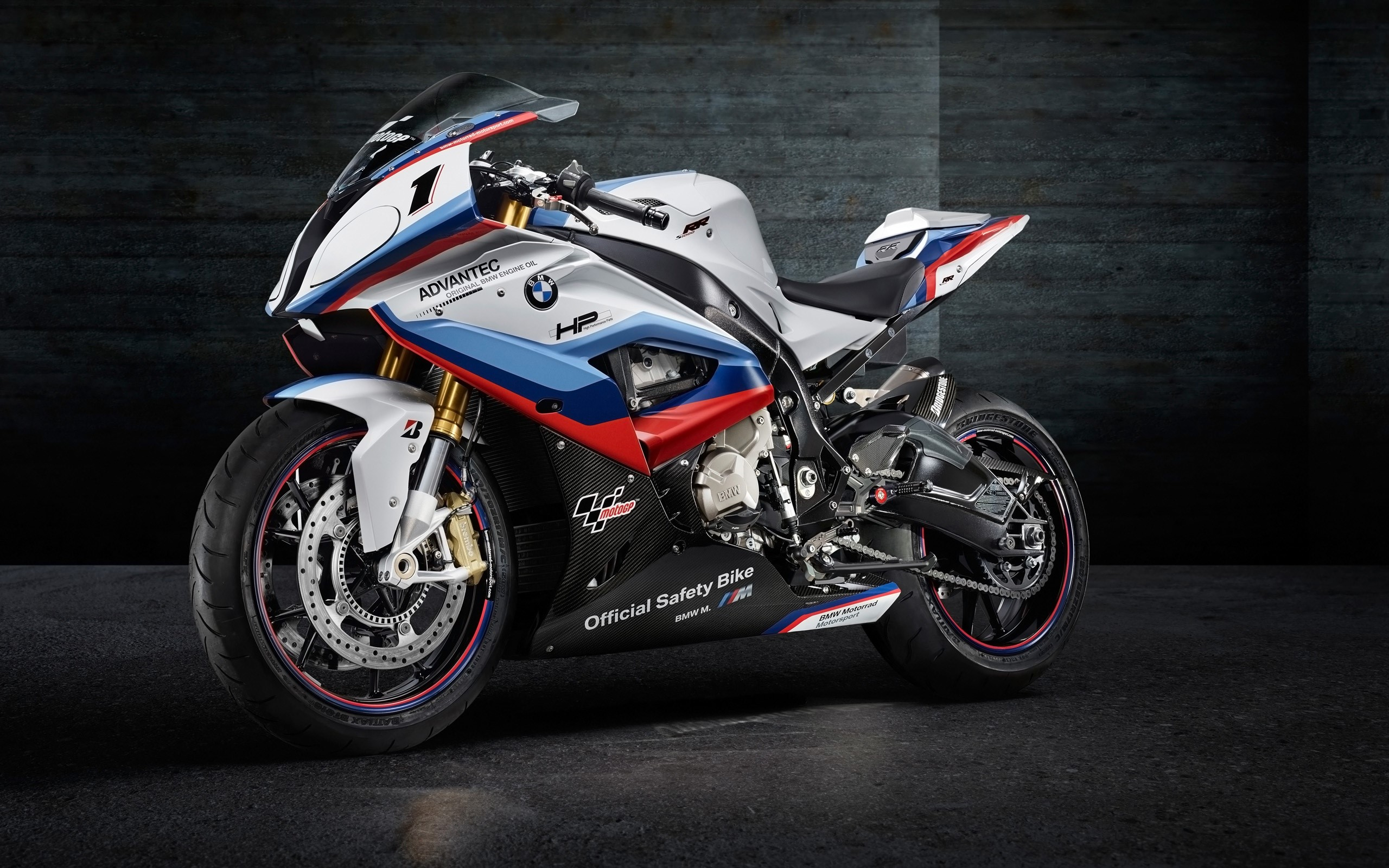 Fondos de pantalla BMW M4 MotoGP safety