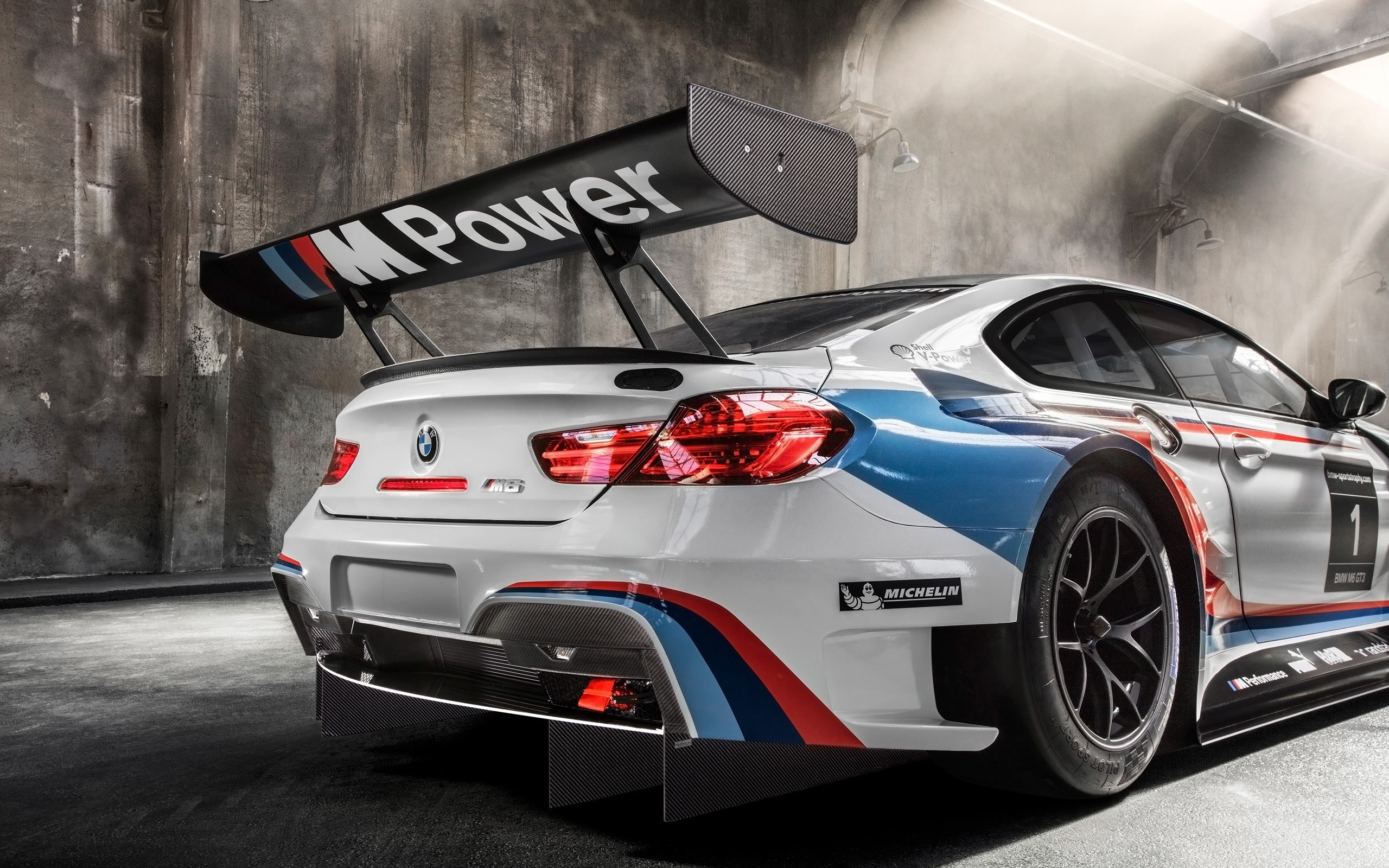 Wallpaper BMW M6 GT3