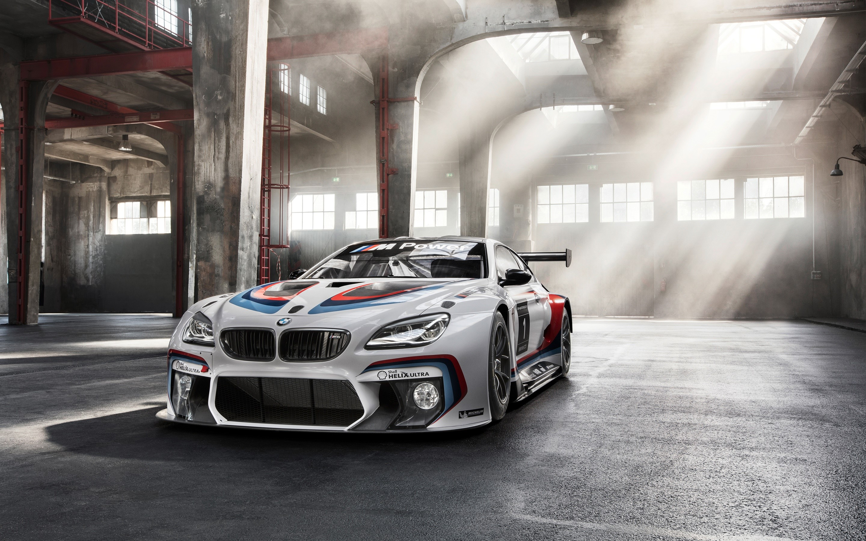 Wallpaper BMW M6 GT3 f13 sport