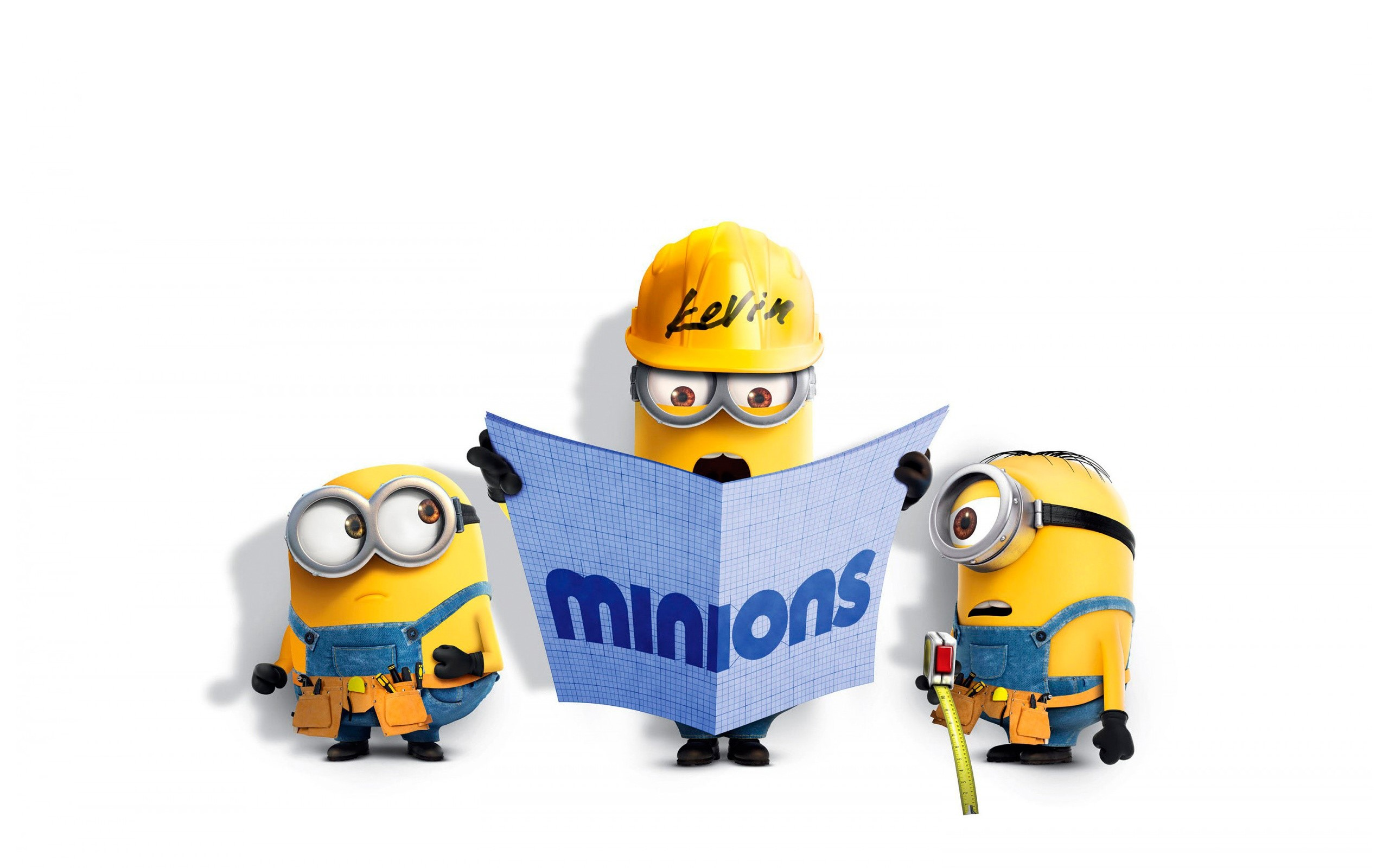 Wallpaper Bob, Kevin and Stuart from Minions