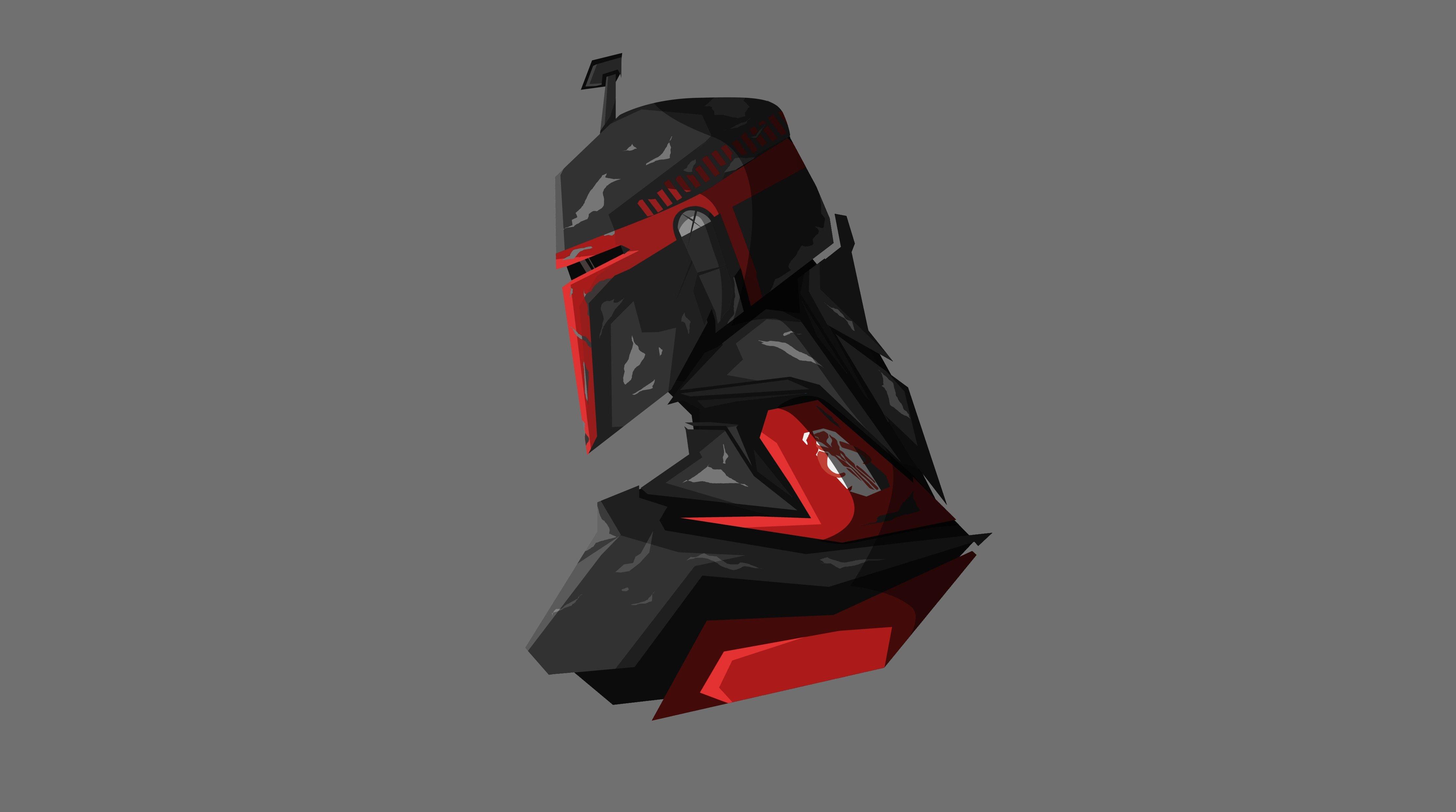 Fondos de pantalla Boba Fett Star Wars Ilustración