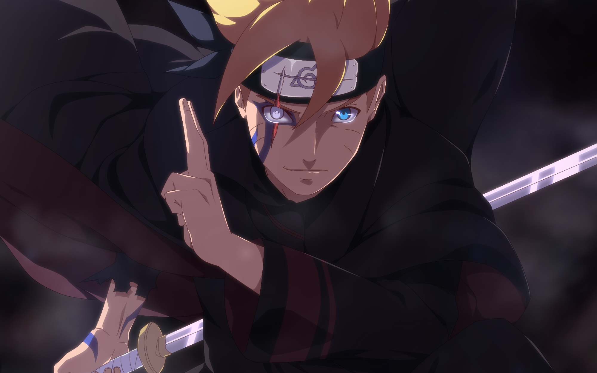 Anime Wallpaper Boruto Uzumaki